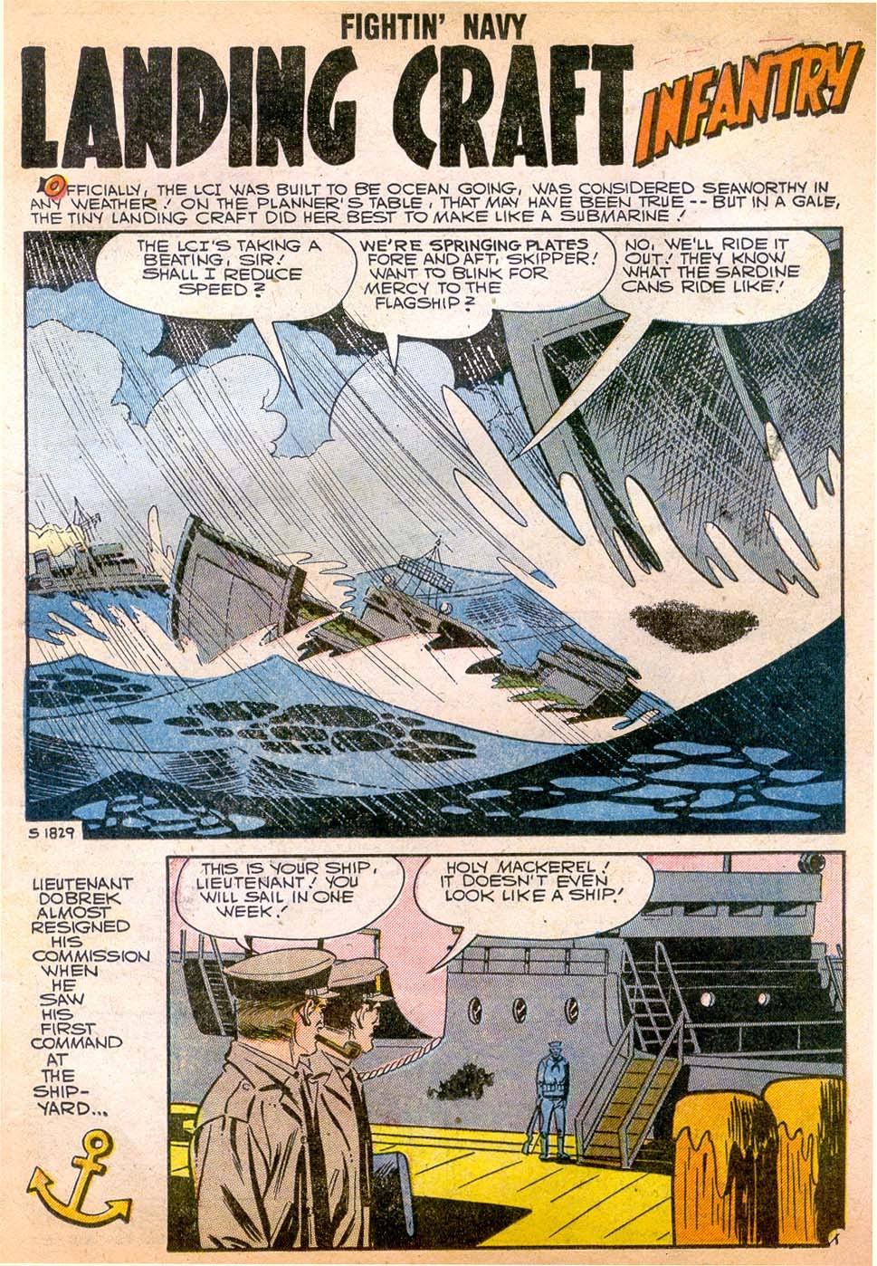 Read online Fightin' Navy comic -  Issue #79 - 21
