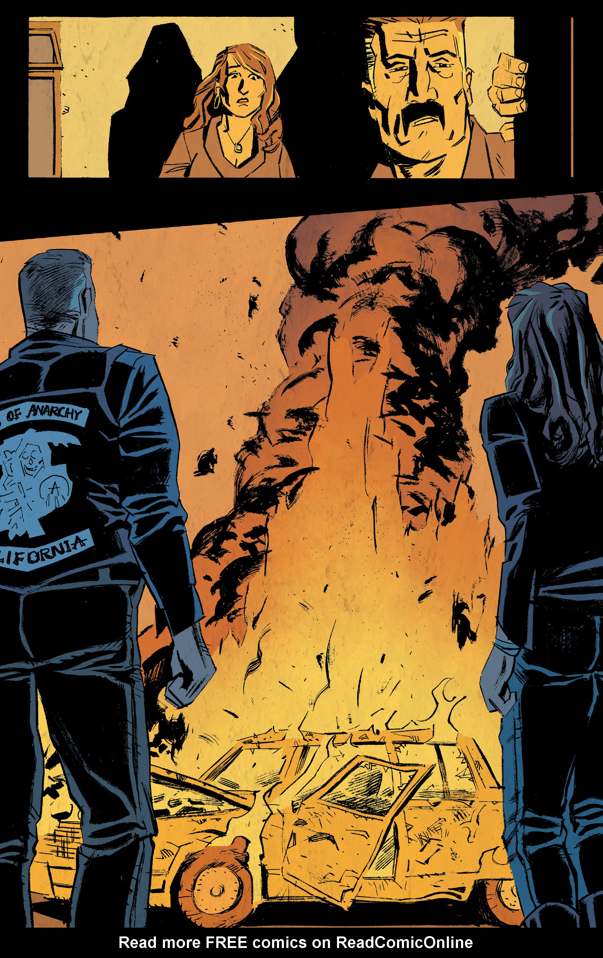 Read online Sons of Anarchy: Redwood Original comic -  Issue #5 - 22