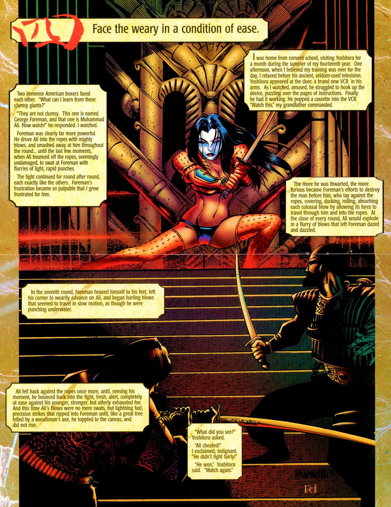 Read online Shi: Senryaku comic -  Issue #1 - 9
