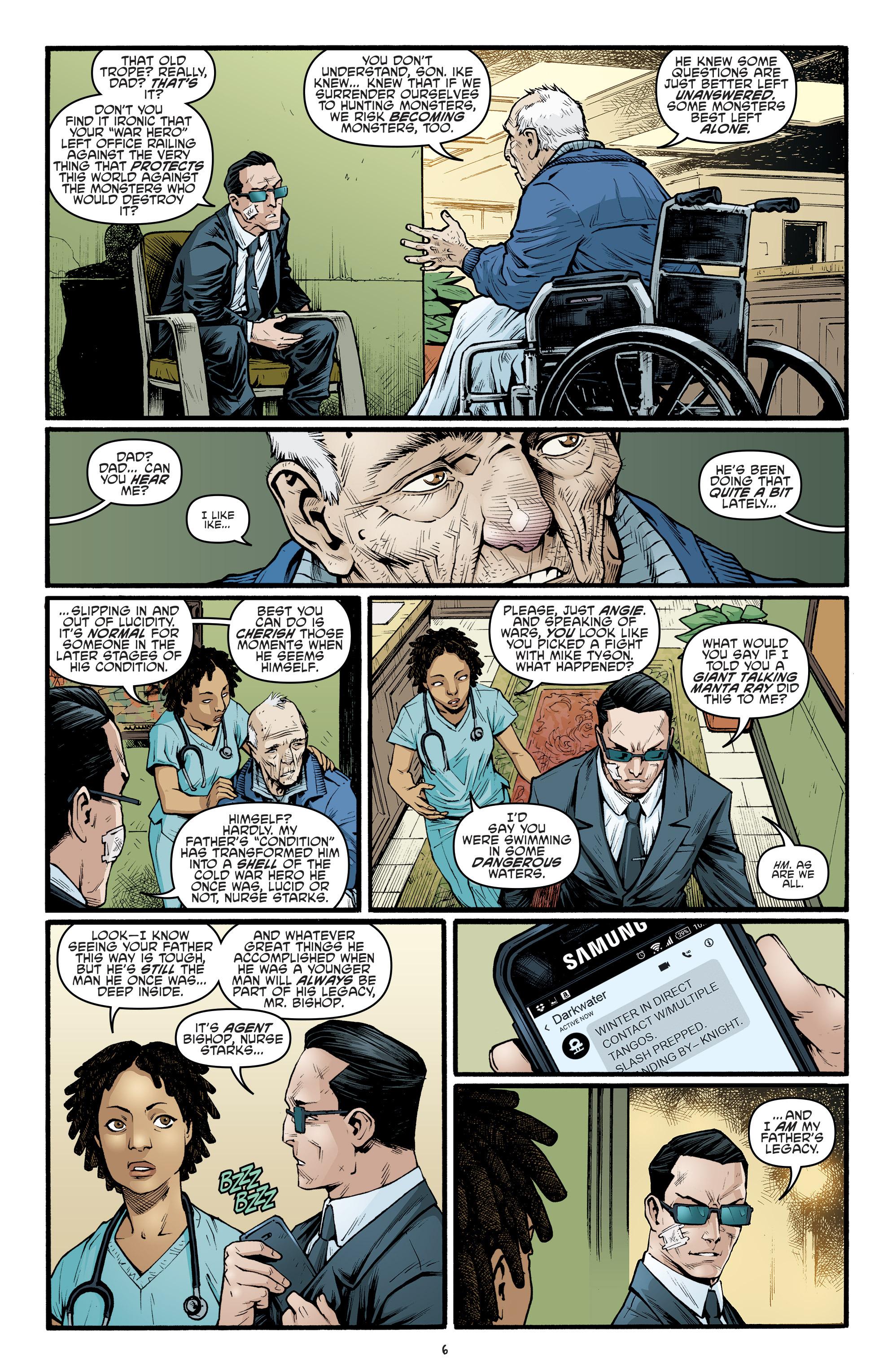 Read online Teenage Mutant Ninja Turtles (2011) comic -  Issue #69 - 8