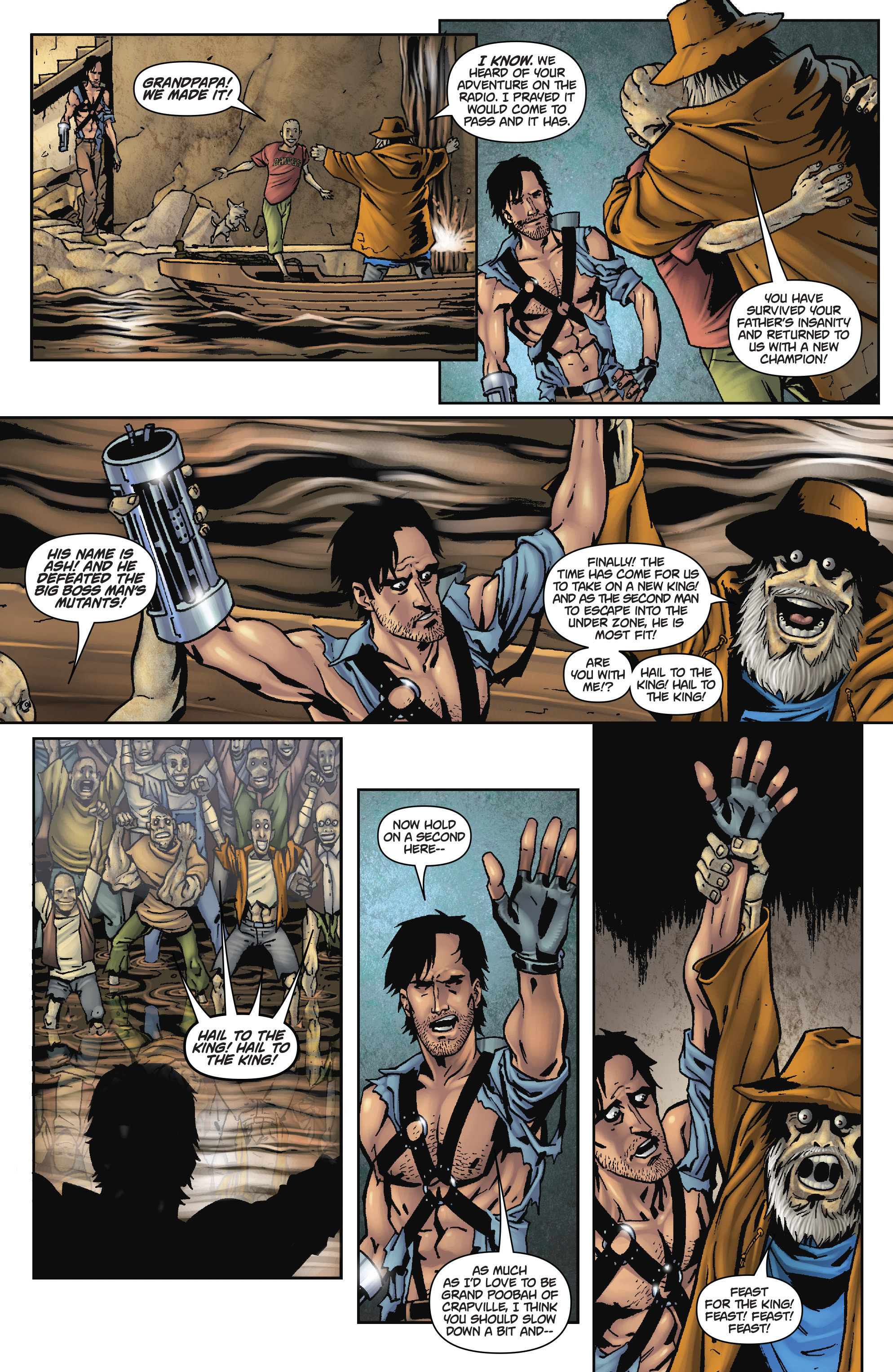 Read online Army of Darkness: The Long Road Home comic -  Issue #Army of Darkness: The Long Road Home TPB - 74