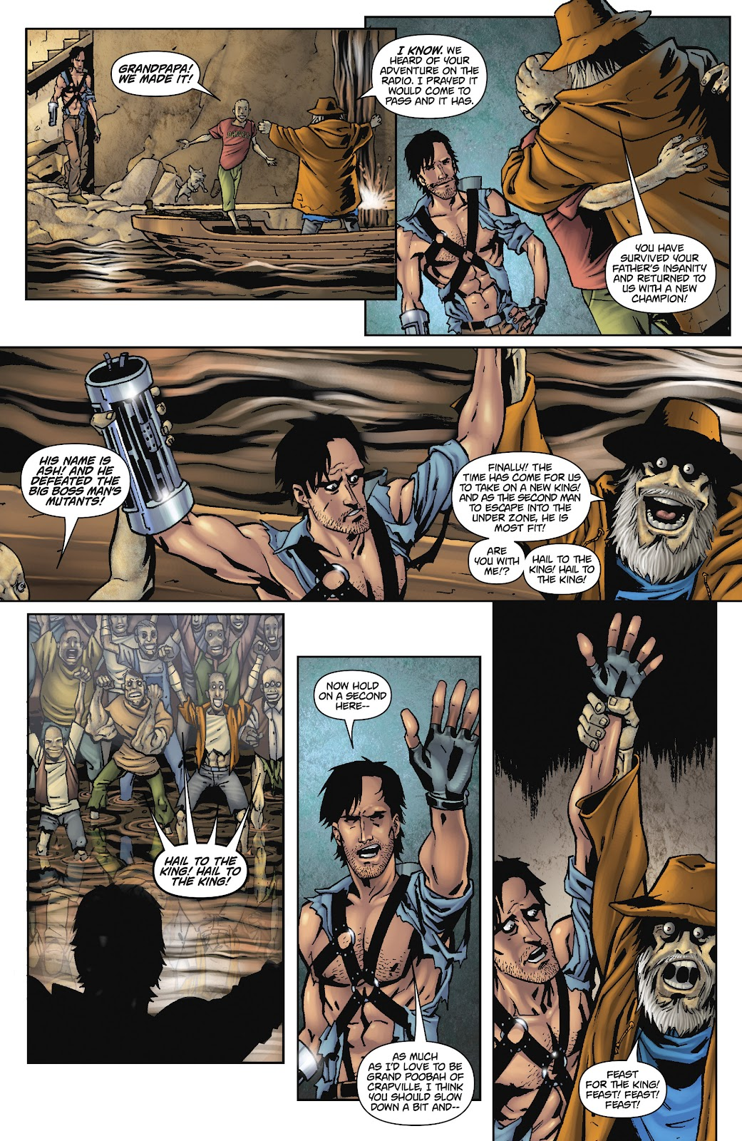 Army of Darkness: The Long Road Home issue TPB - Page 74