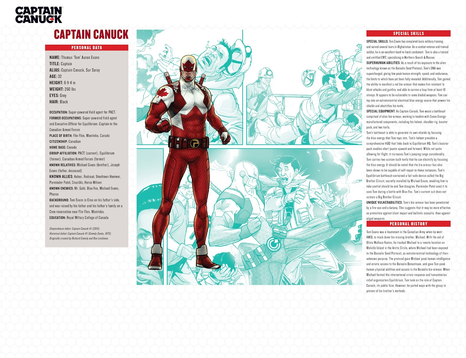 Captain Canuck: Invasion (Canada Day 2018) issue Full - Page 21