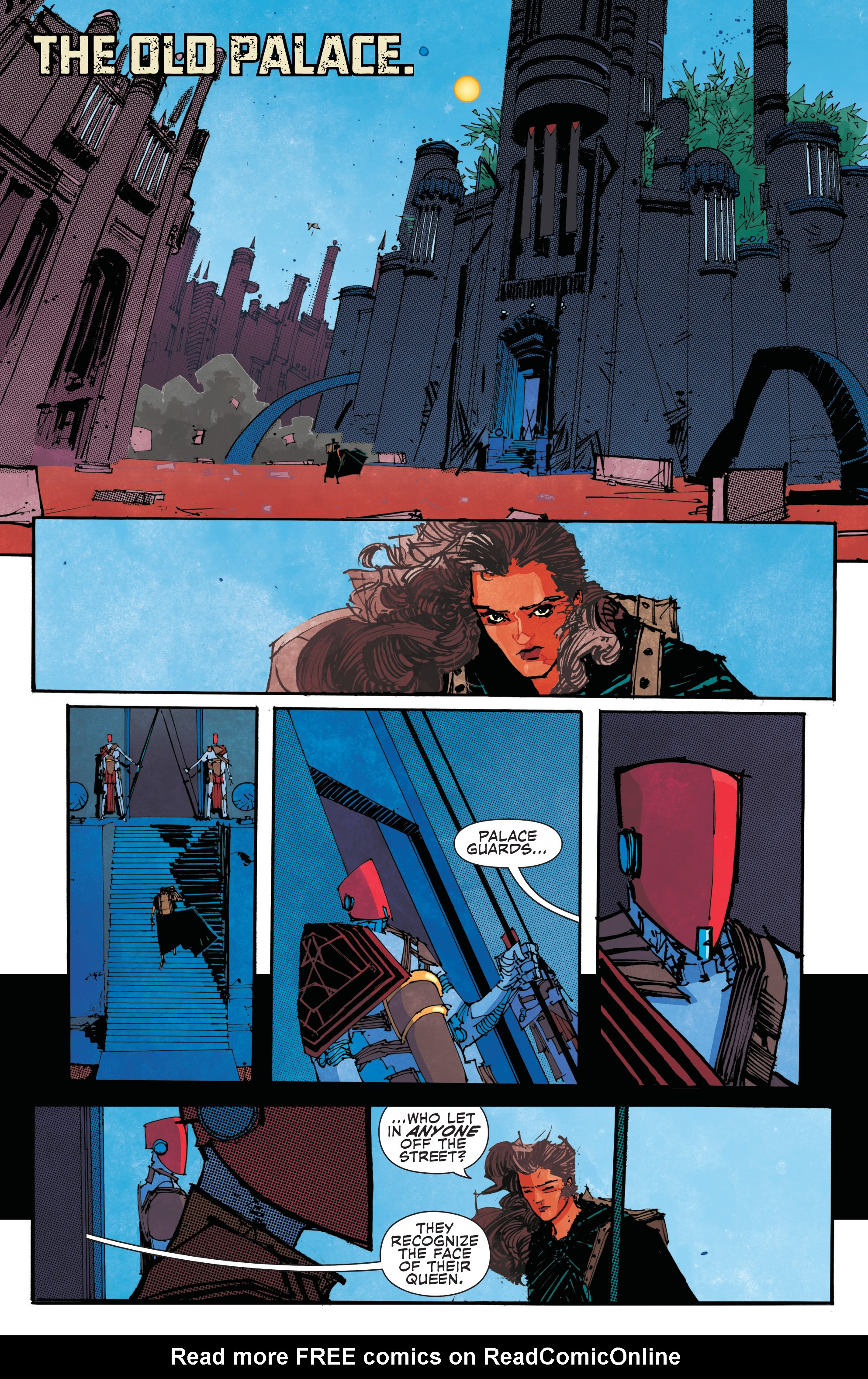 Read online John Carter: The End comic -  Issue #2 - 6