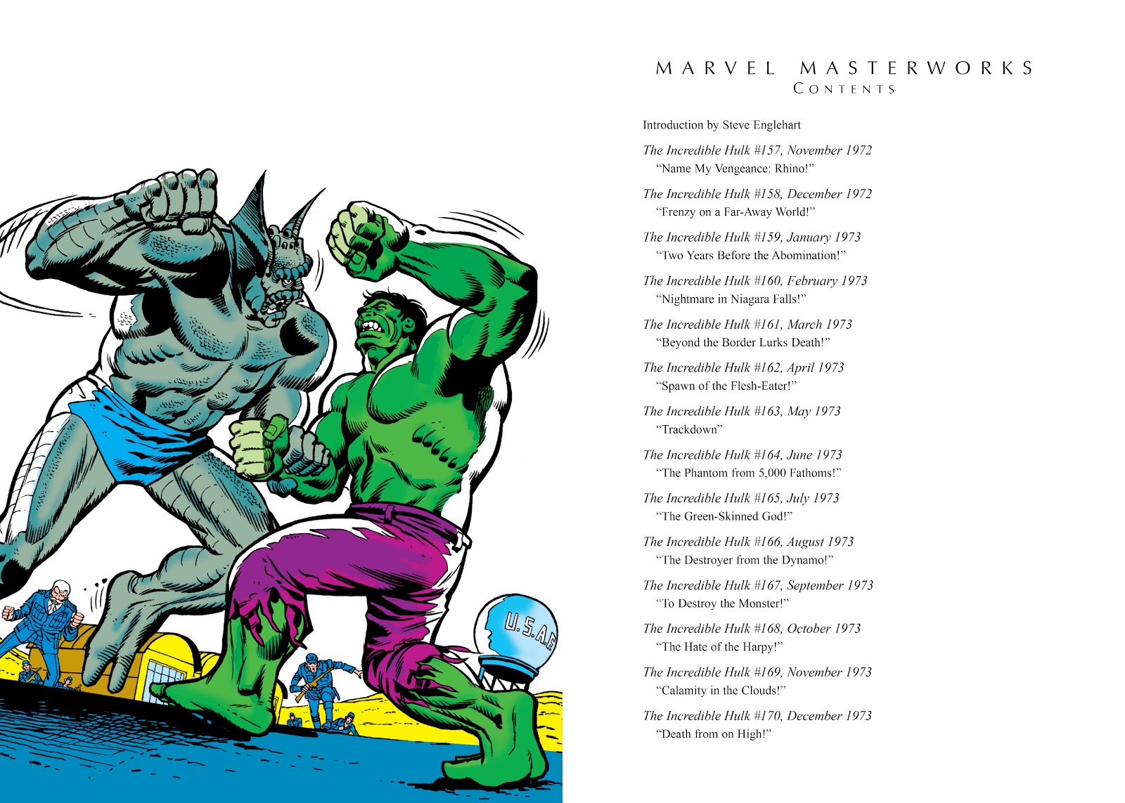 Read online Marvel Masterworks: The Incredible Hulk comic -  Issue # TPB 9 (Part 1) - 4