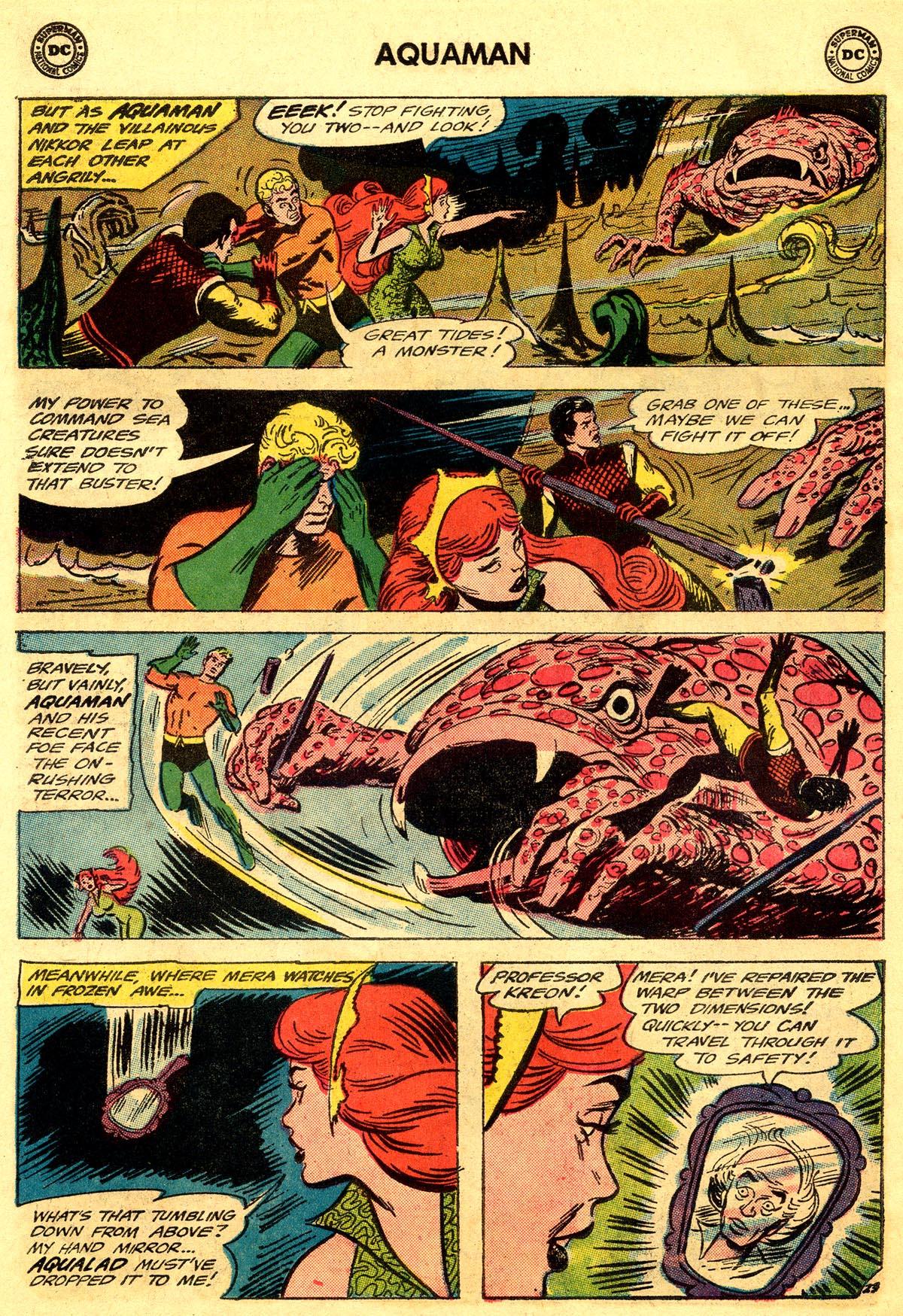 Read online Aquaman (1962) comic -  Issue #19 - 30