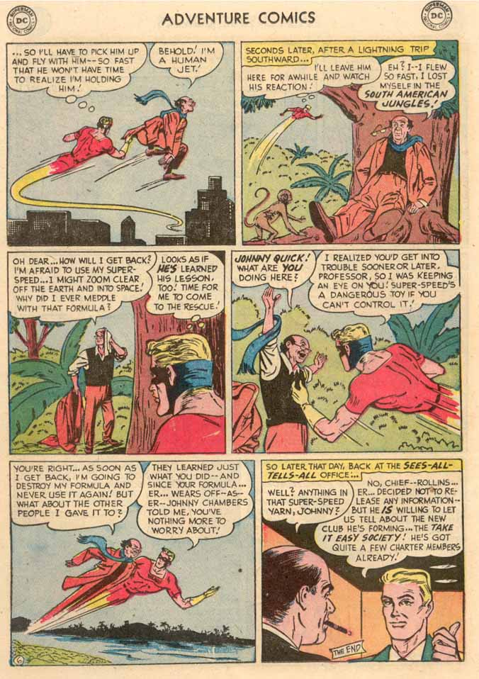 Read online Adventure Comics (1938) comic -  Issue #189 - 30
