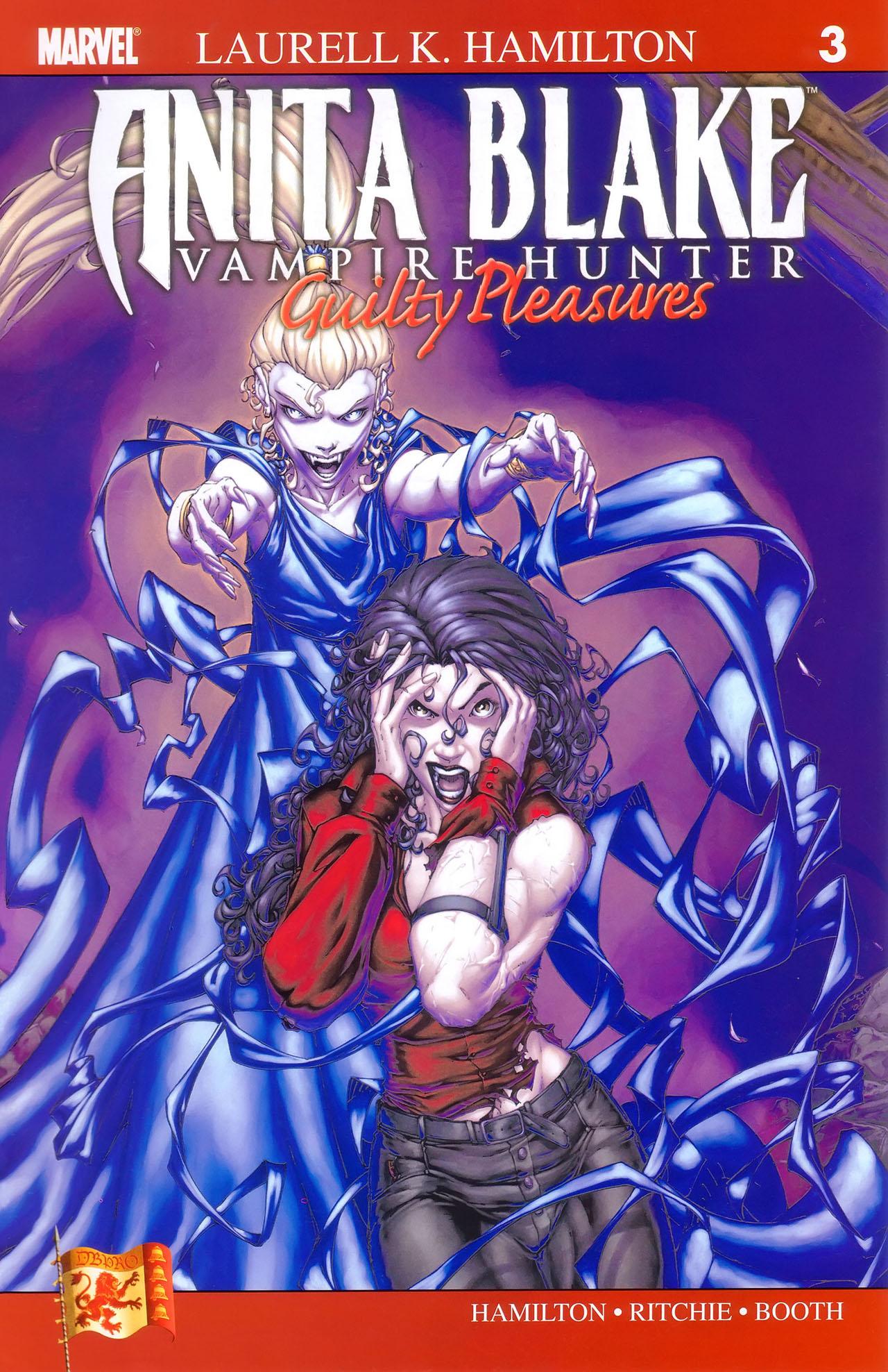 Read online Anita Blake, Vampire Hunter: Guilty Pleasures comic -  Issue #3 - 2