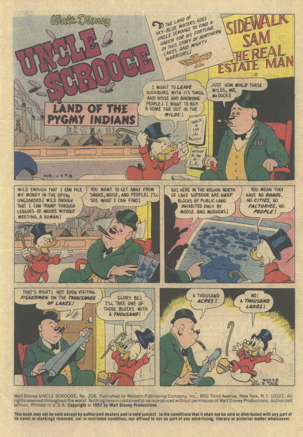 Read online Uncle Scrooge (1953) comic -  Issue #208 - 3