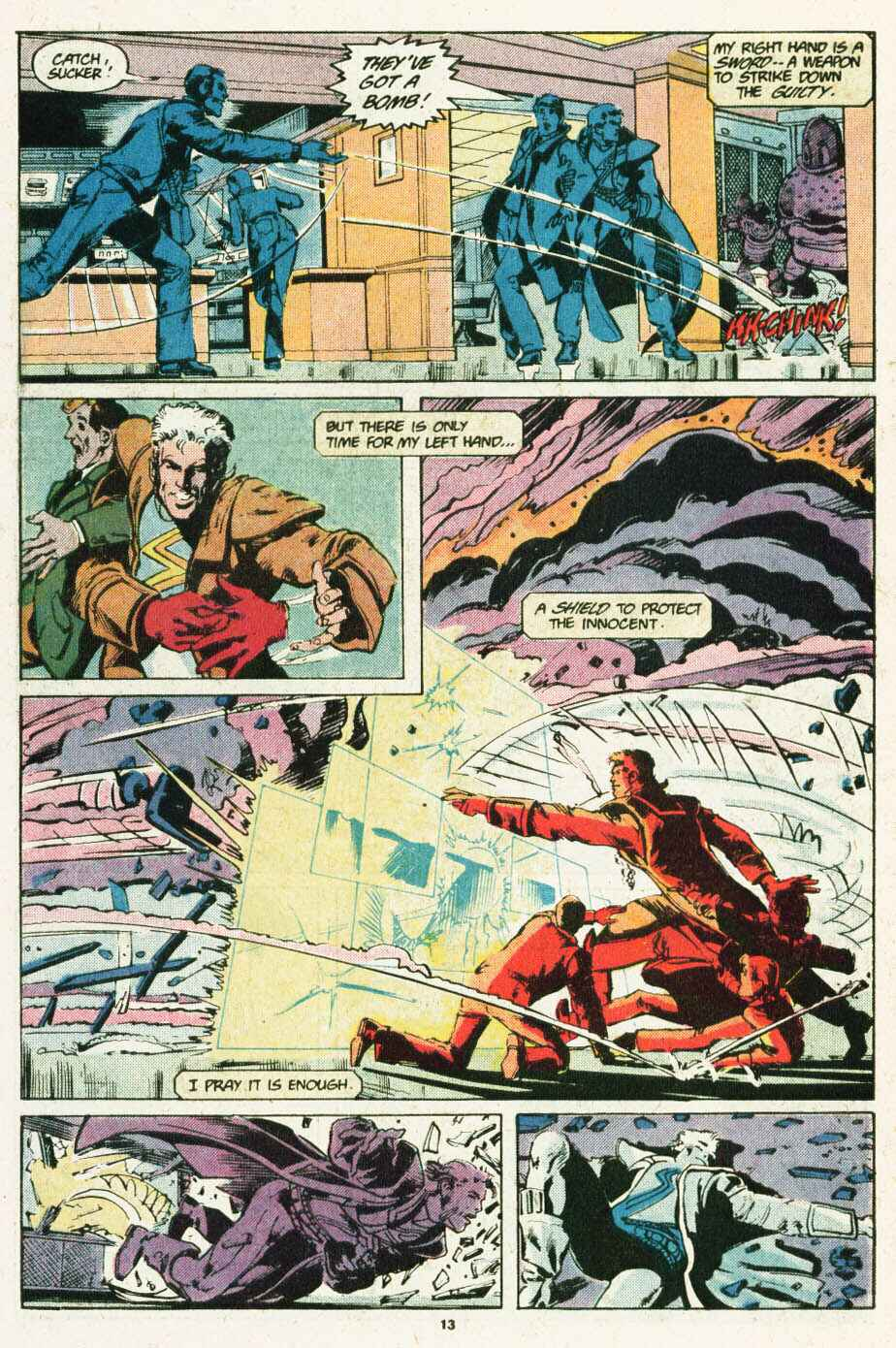 Read online Justice (1986) comic -  Issue #12 - 14