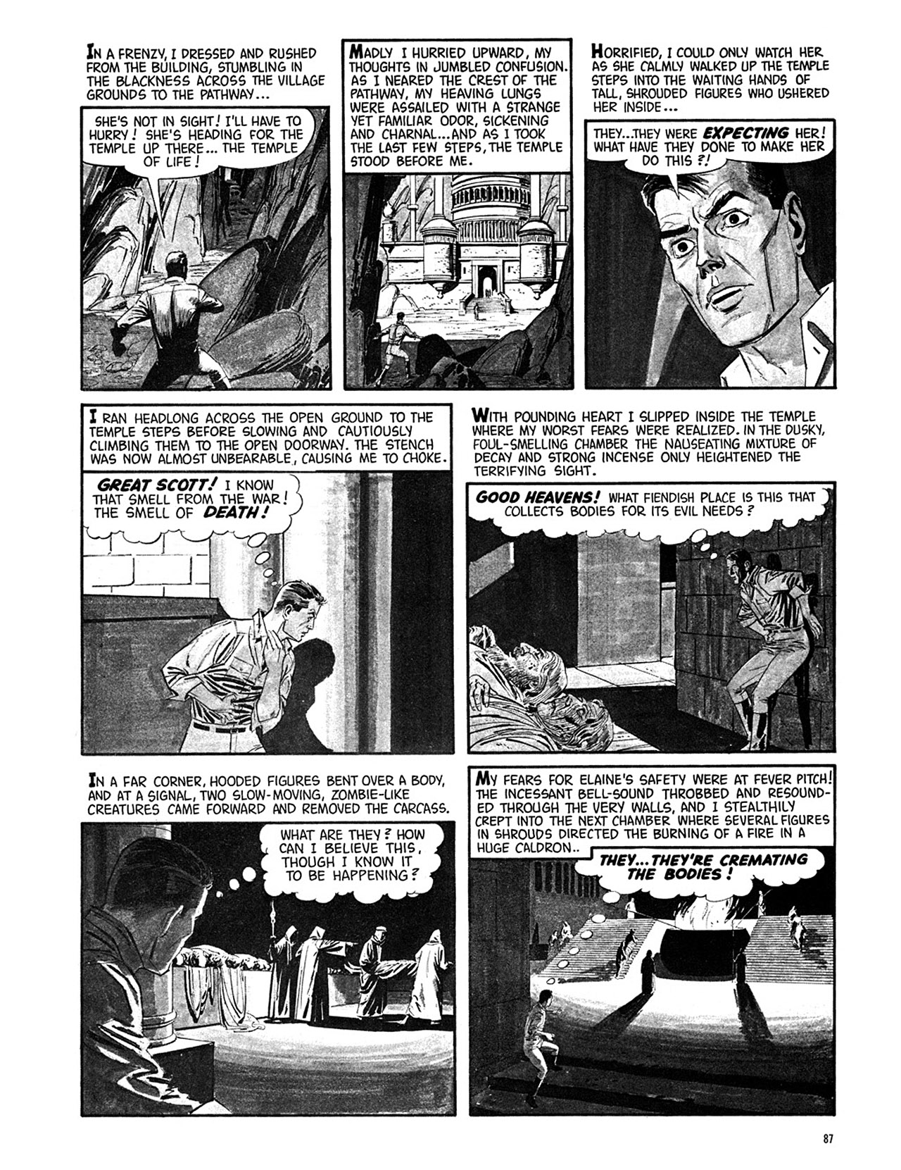 Read online Eerie Archives comic -  Issue # TPB 3 - 88