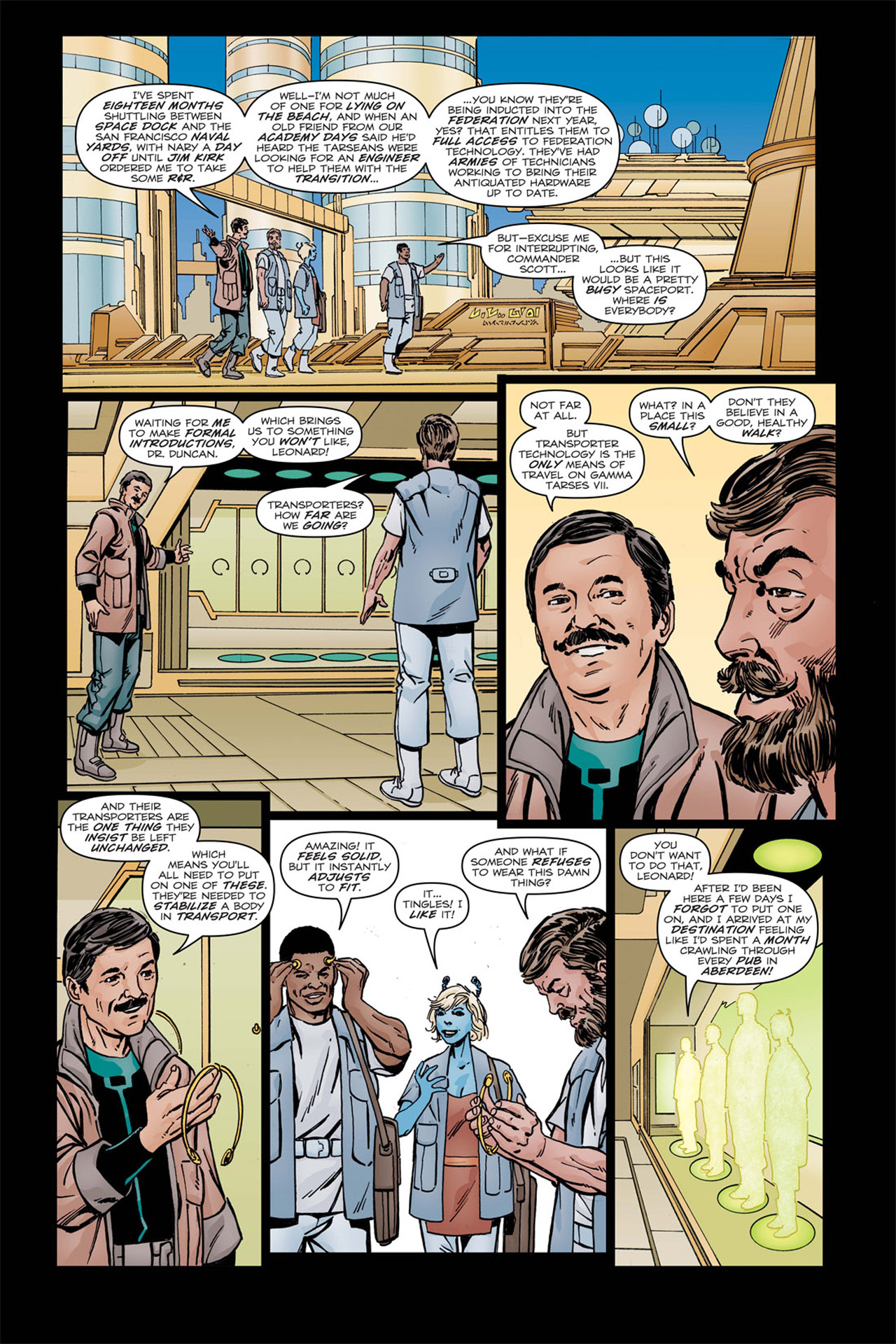 Read online Star Trek: Leonard McCoy, Frontier Doctor comic -  Issue #2 - 9