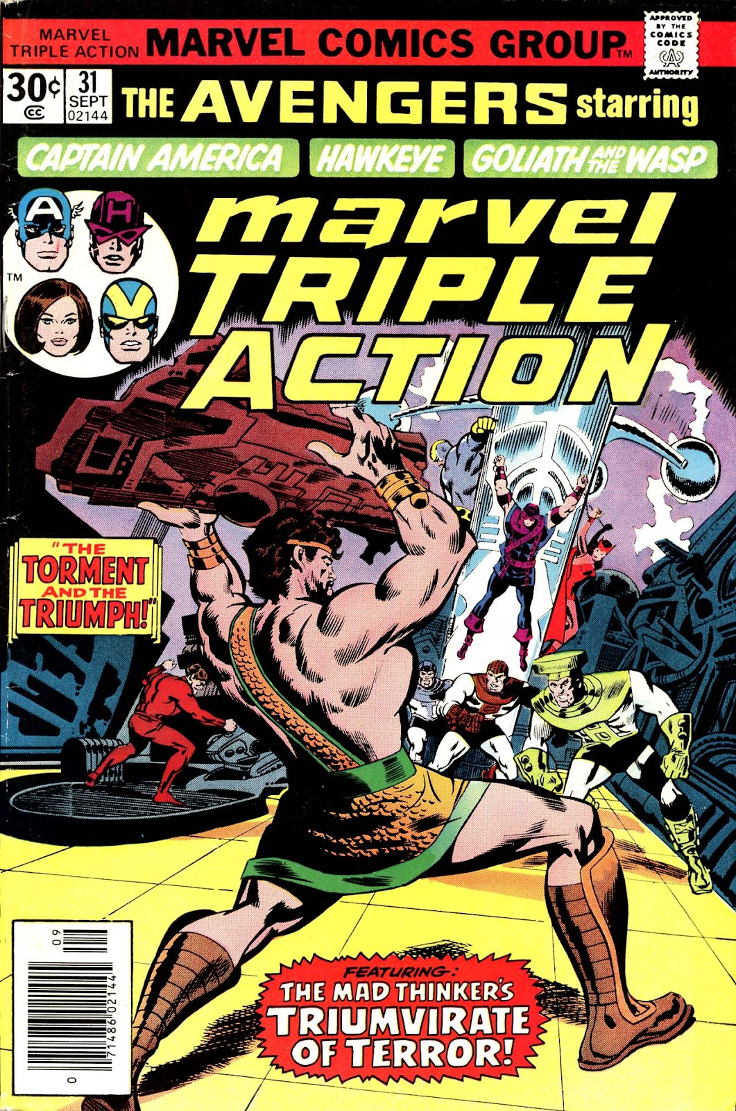 Marvel Triple Action (1972) issue 31 - Page 1
