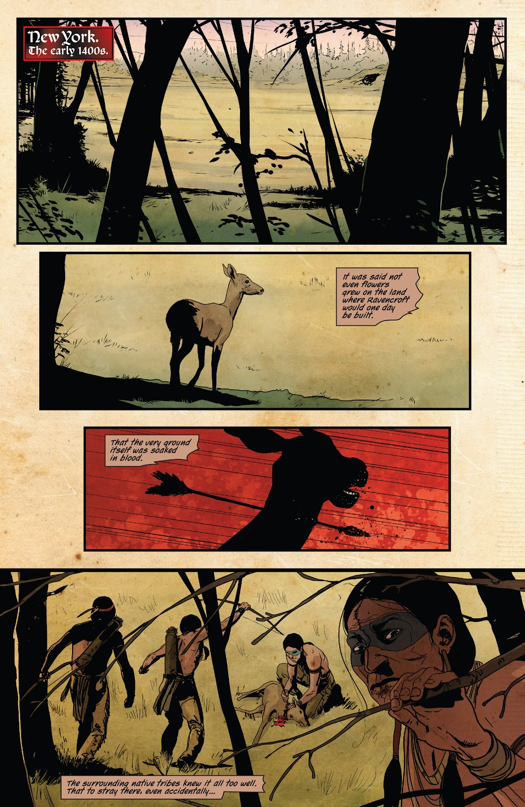 Read online Ruins Of Ravencroft comic -  Issue # Carnage - 8
