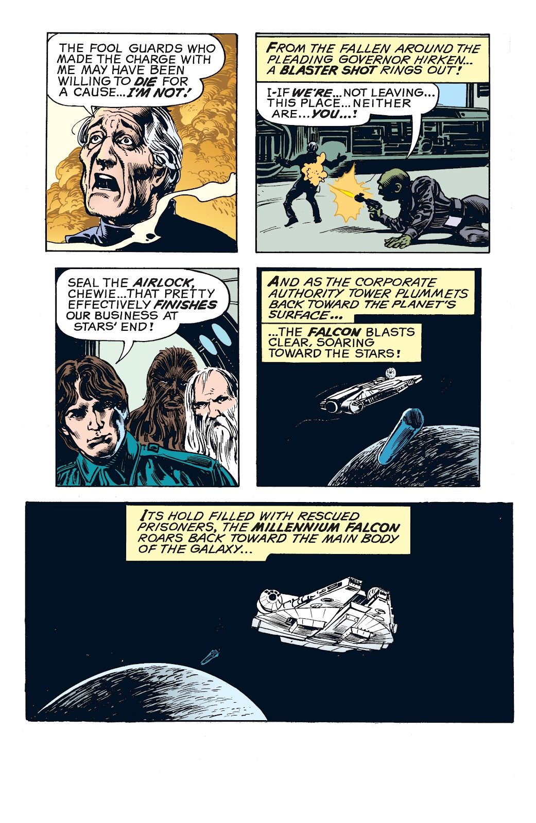 Read online Star Wars Legends: The Newspaper Strips - Epic Collection comic -  Issue # TPB (Part 4) - 78
