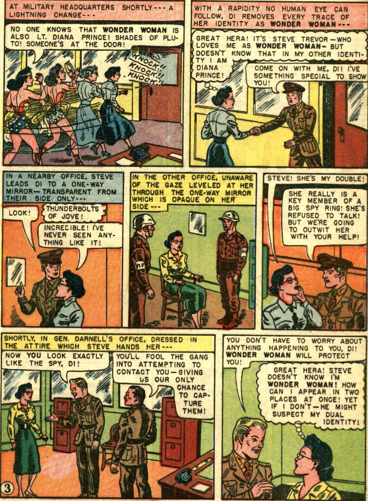 Read online Wonder Woman (1942) comic -  Issue #67 - 5