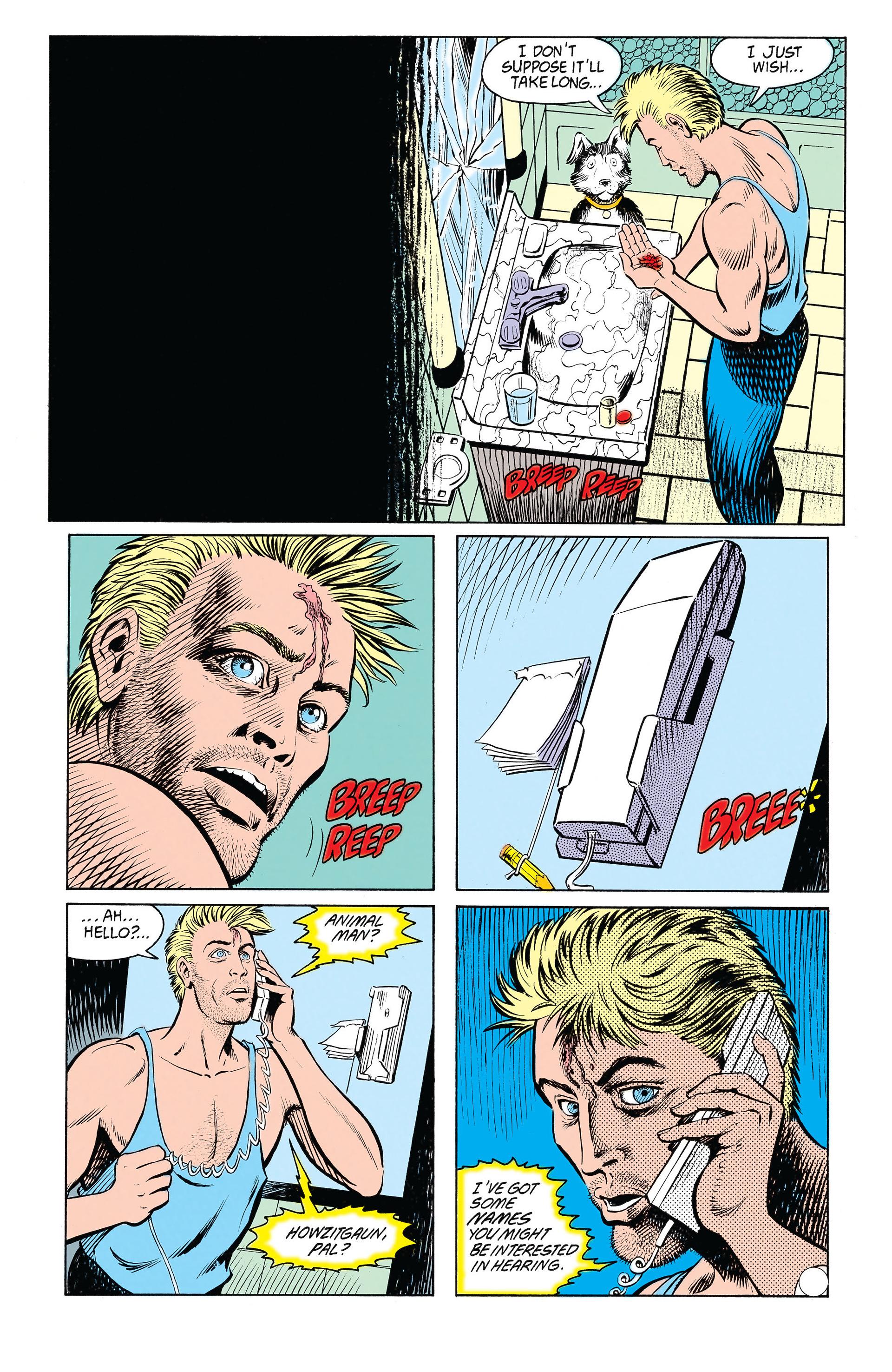Read online Animal Man (1988) comic -  Issue #20 - 24