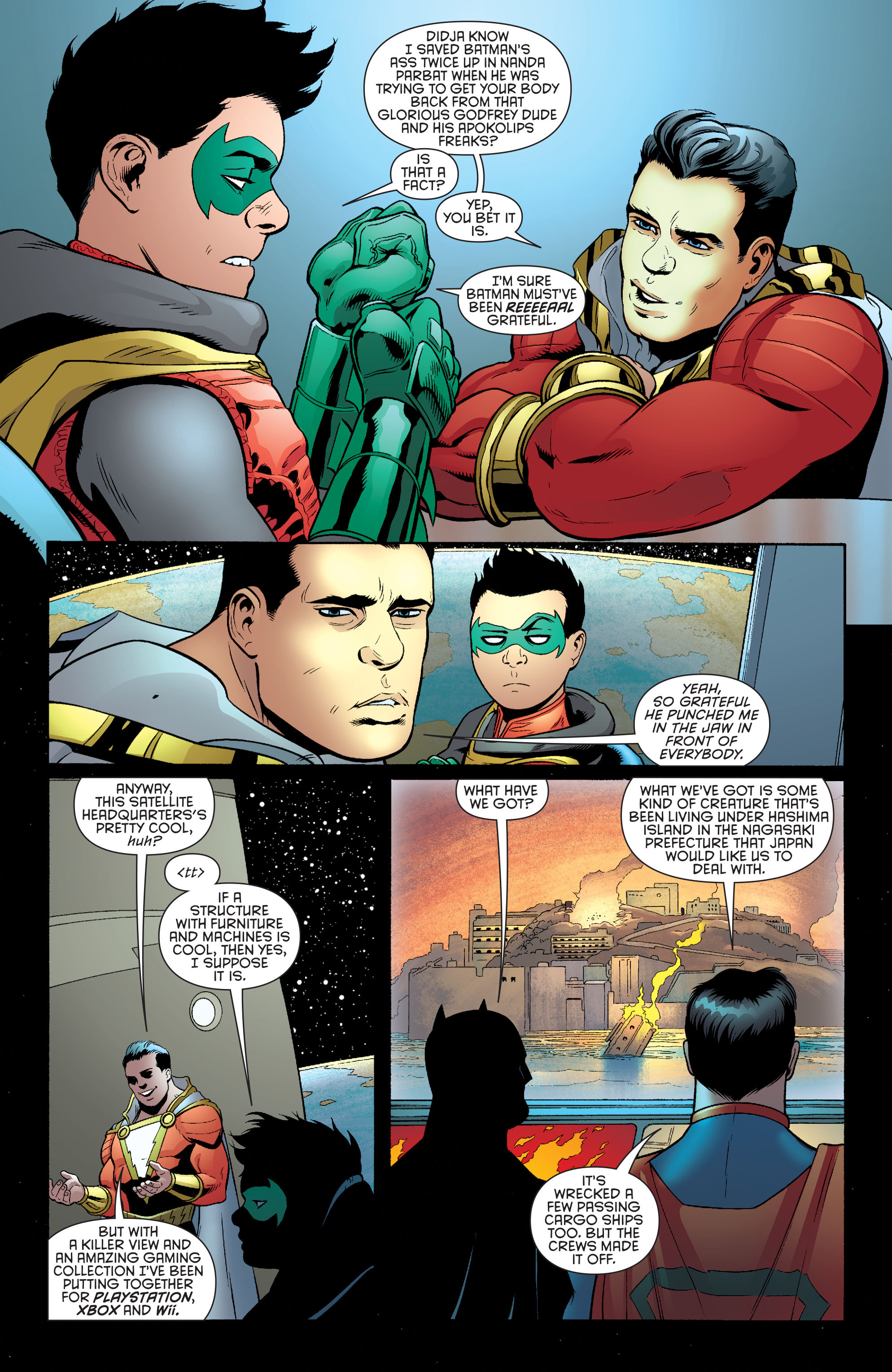 Read online Batman and Robin (2011) comic -  Issue #39 - 18