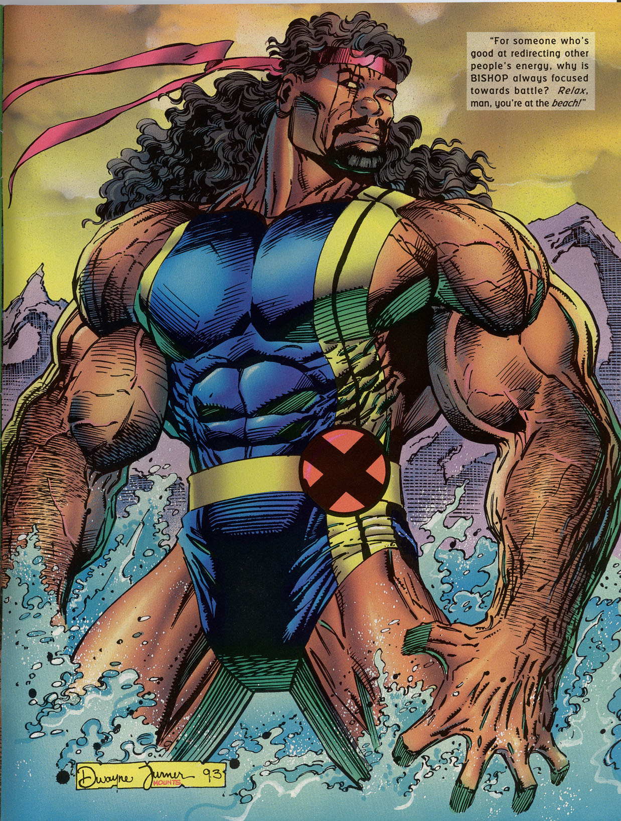 Read online Marvel Swimsuit Special comic -  Issue #2 - 43