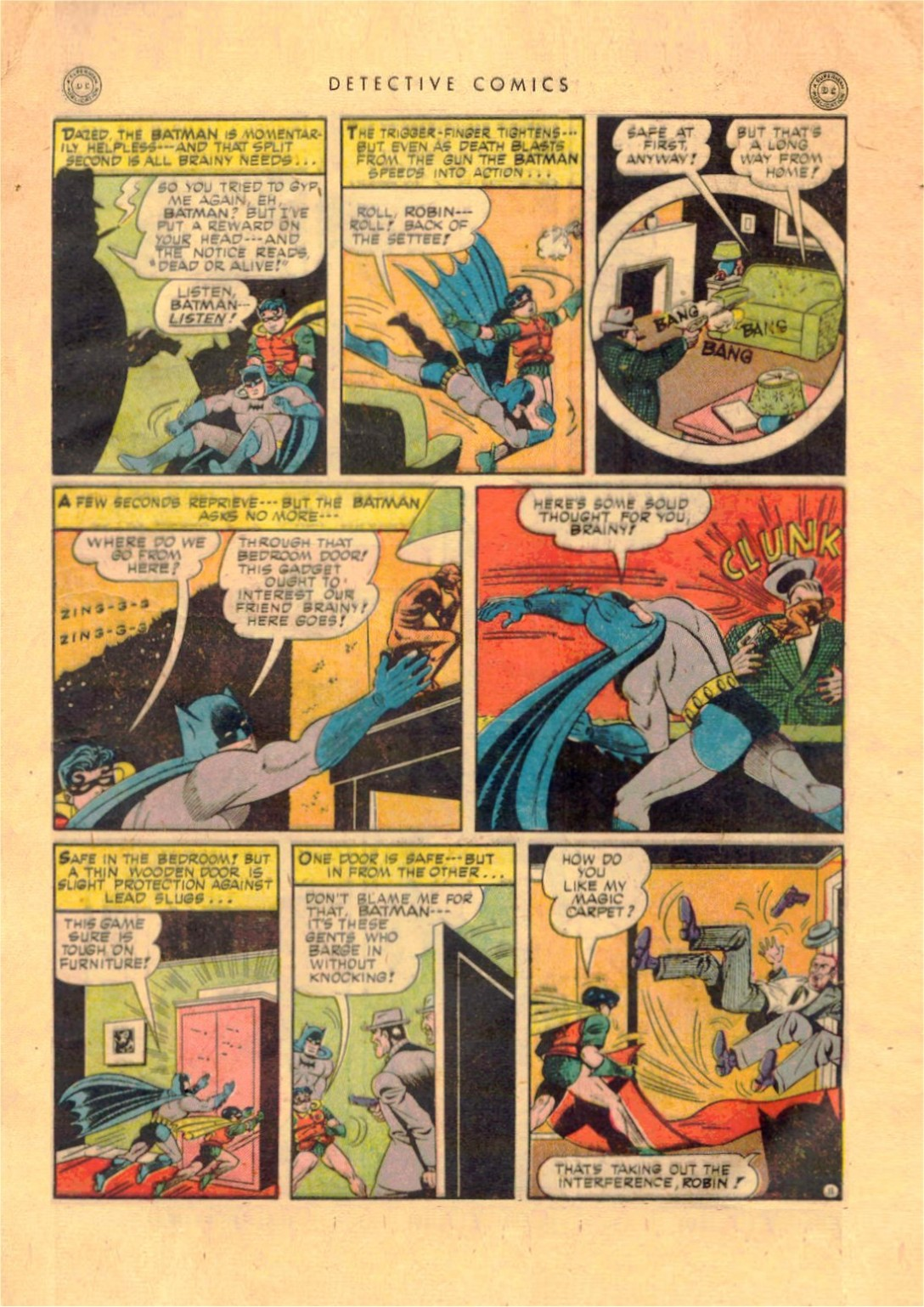 Read online Detective Comics (1937) comic -  Issue #92 - 13