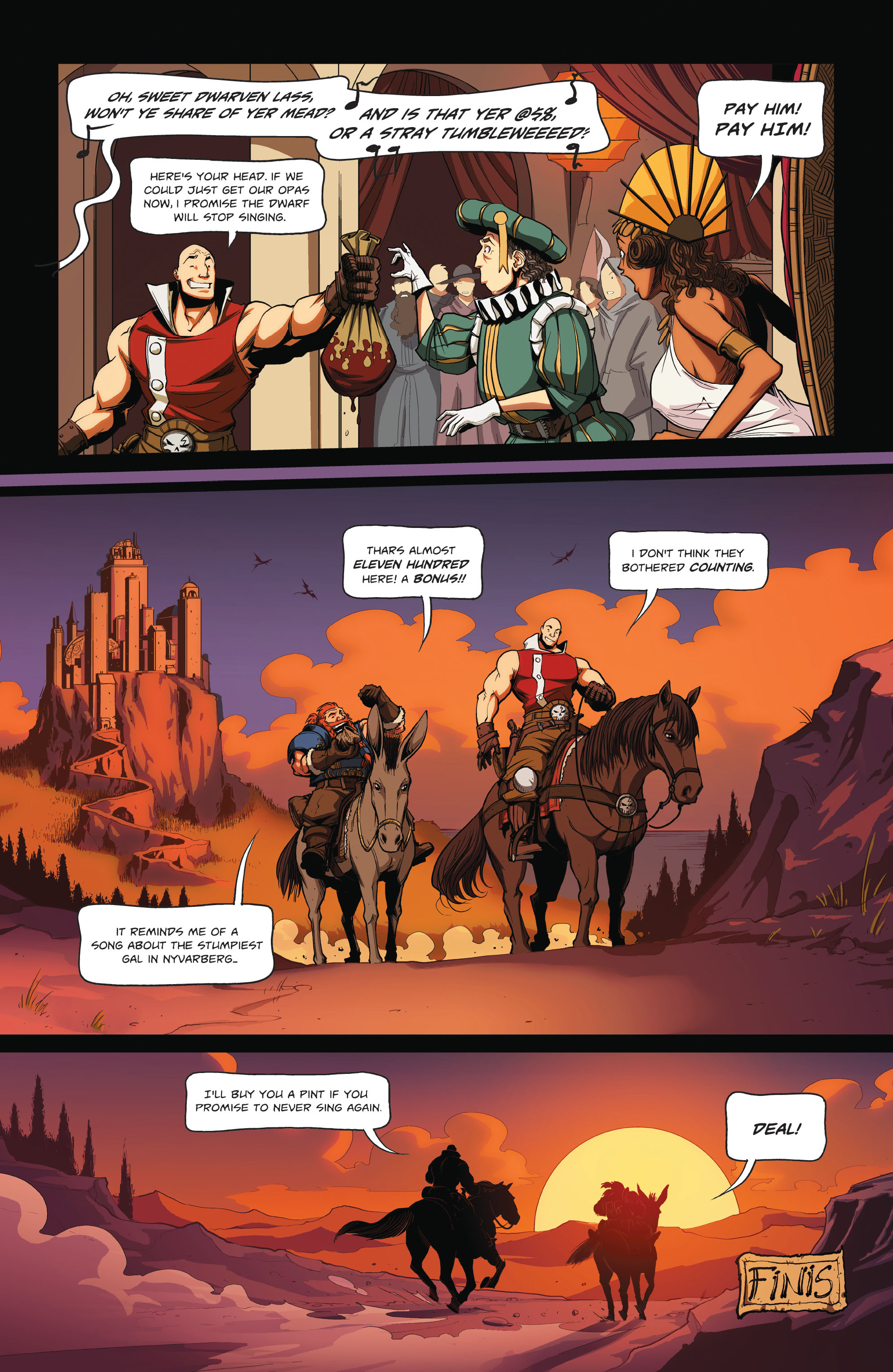 Read online Skullkickers comic -  Issue #12 - 26