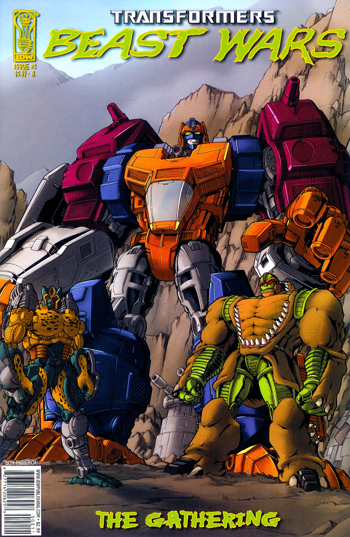 Read online Transformers, Beast Wars: The Gathering comic -  Issue #2 - 1
