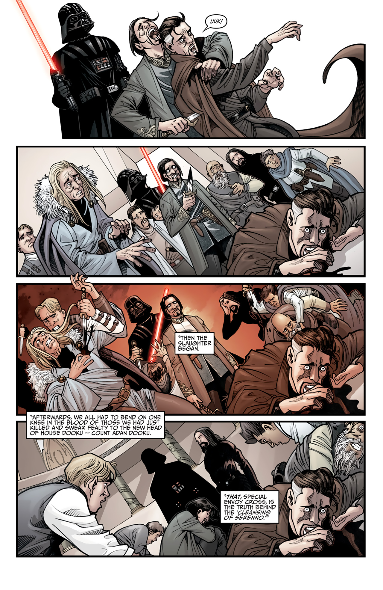 Read online Star Wars: Agent Of The Empire - Hard Targets comic -  Issue #2 - 12