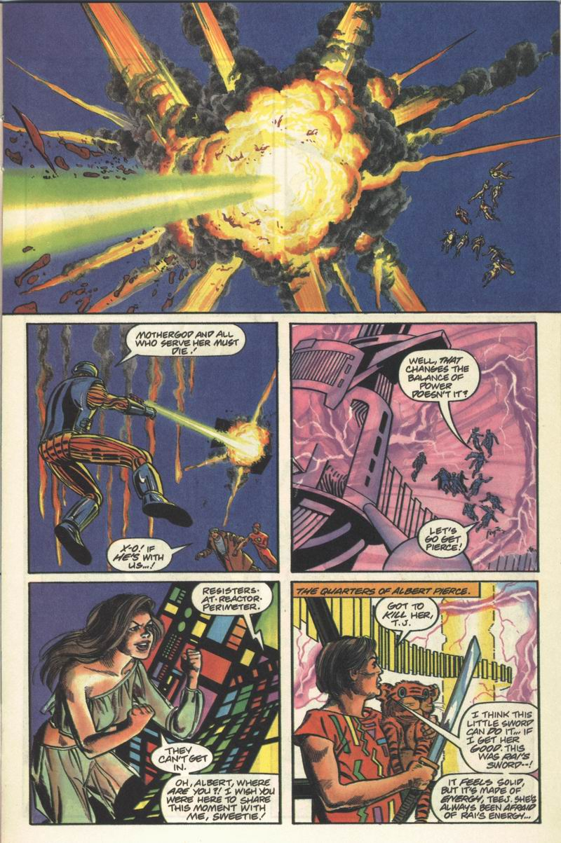 Read online Solar, Man of the Atom comic -  Issue #13 - 11