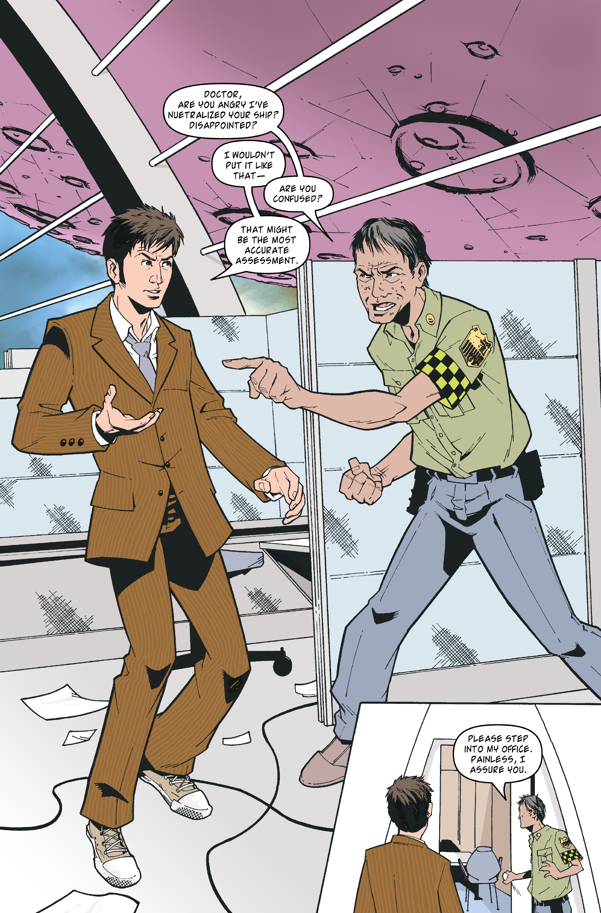 Read online Doctor Who: The Tenth Doctor Archives comic -  Issue #35 - 7