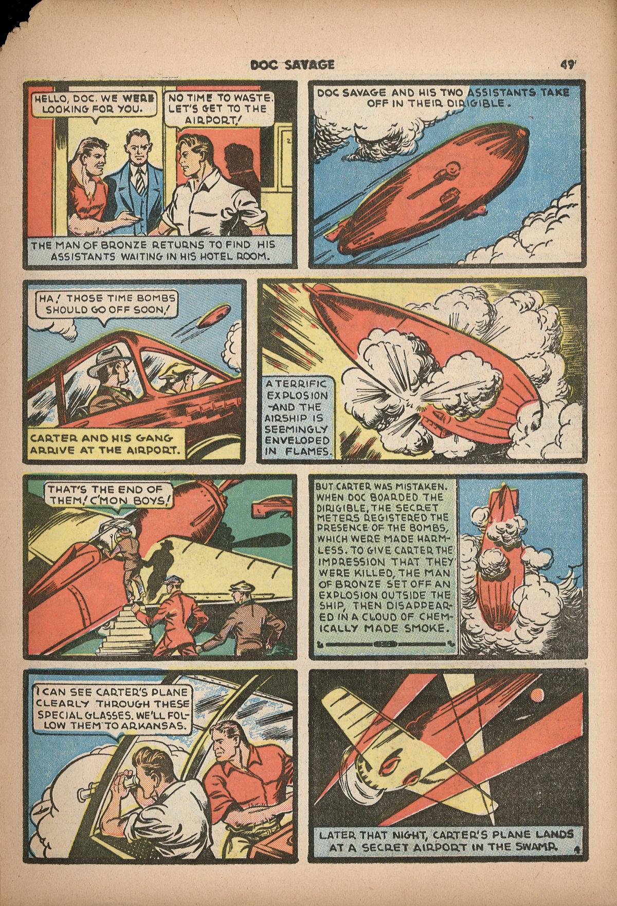 Read online Shadow Comics comic -  Issue #2 - 52
