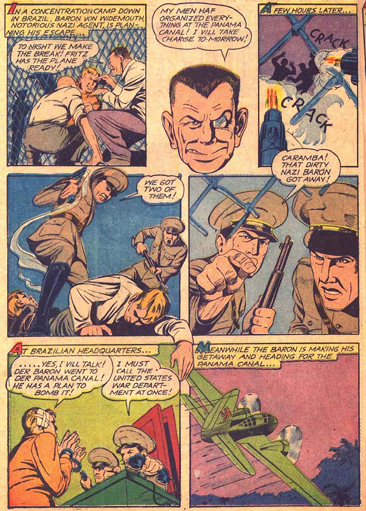 Read online All-Winners Comics comic -  Issue #9 - 17
