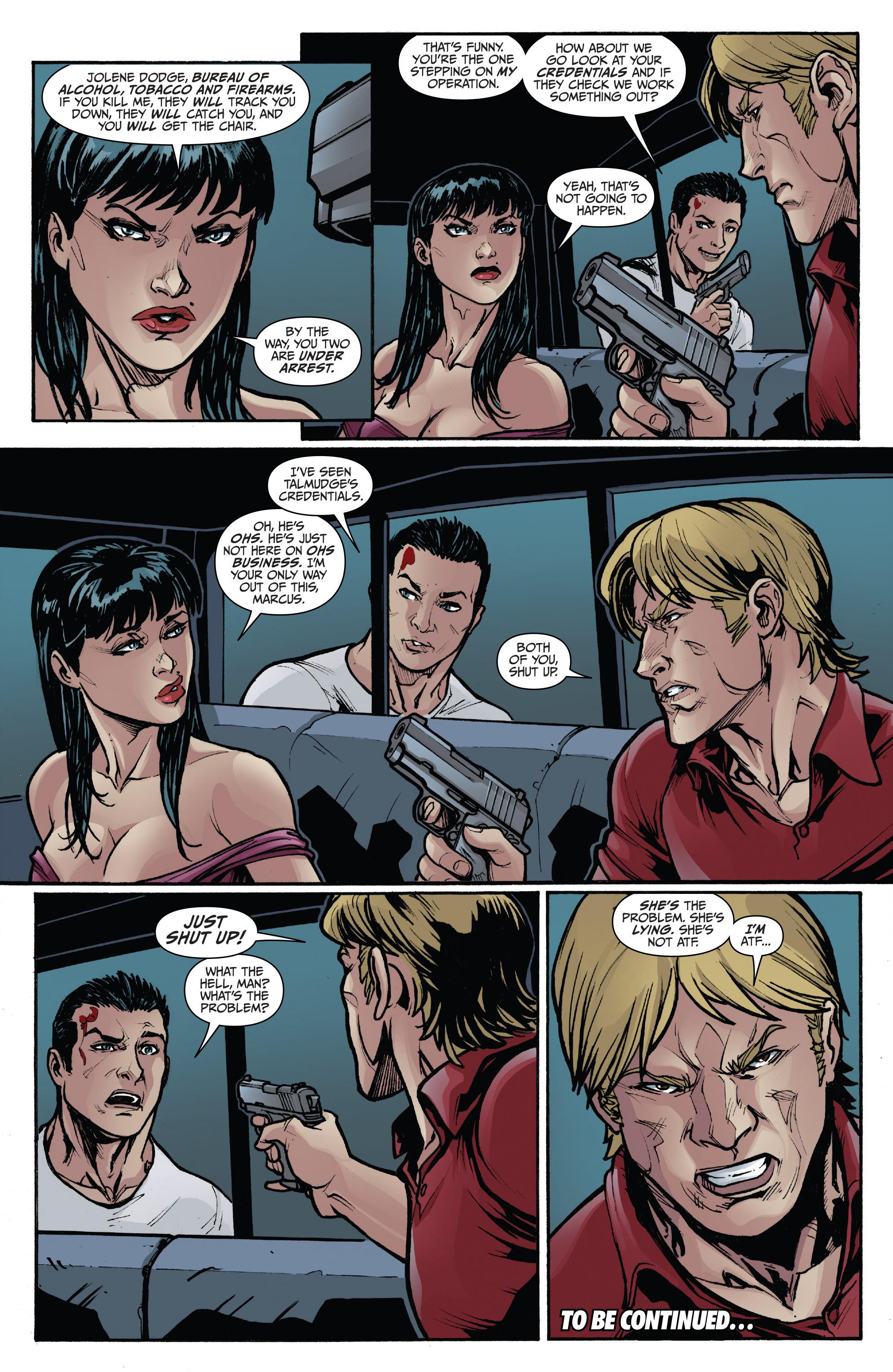 Read online 3 Guns comic -  Issue #3 - 24