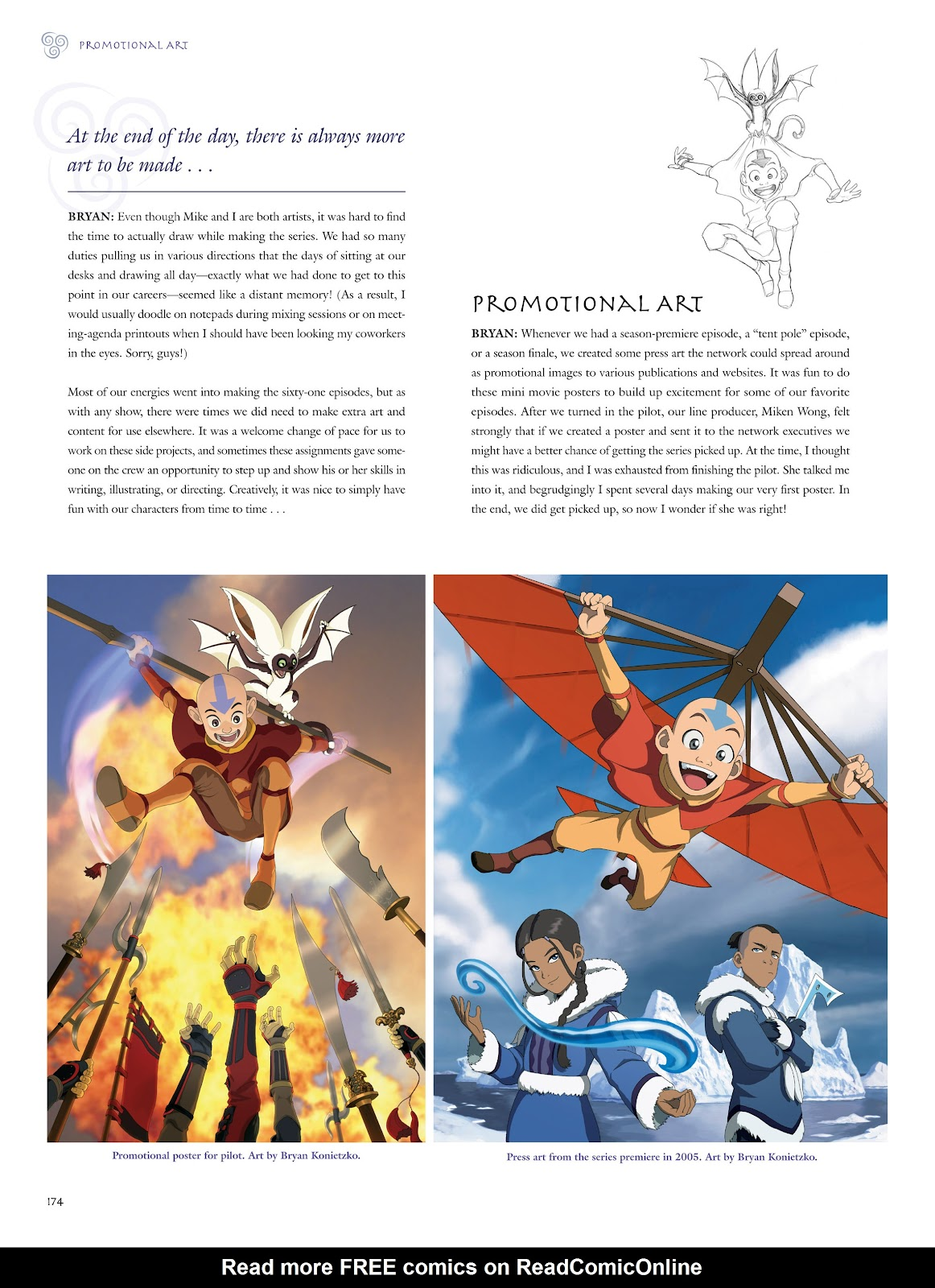 Read online Avatar: The Last Airbender - The Art of the Animated Series comic -  Issue # TPB (Part 2) - 71