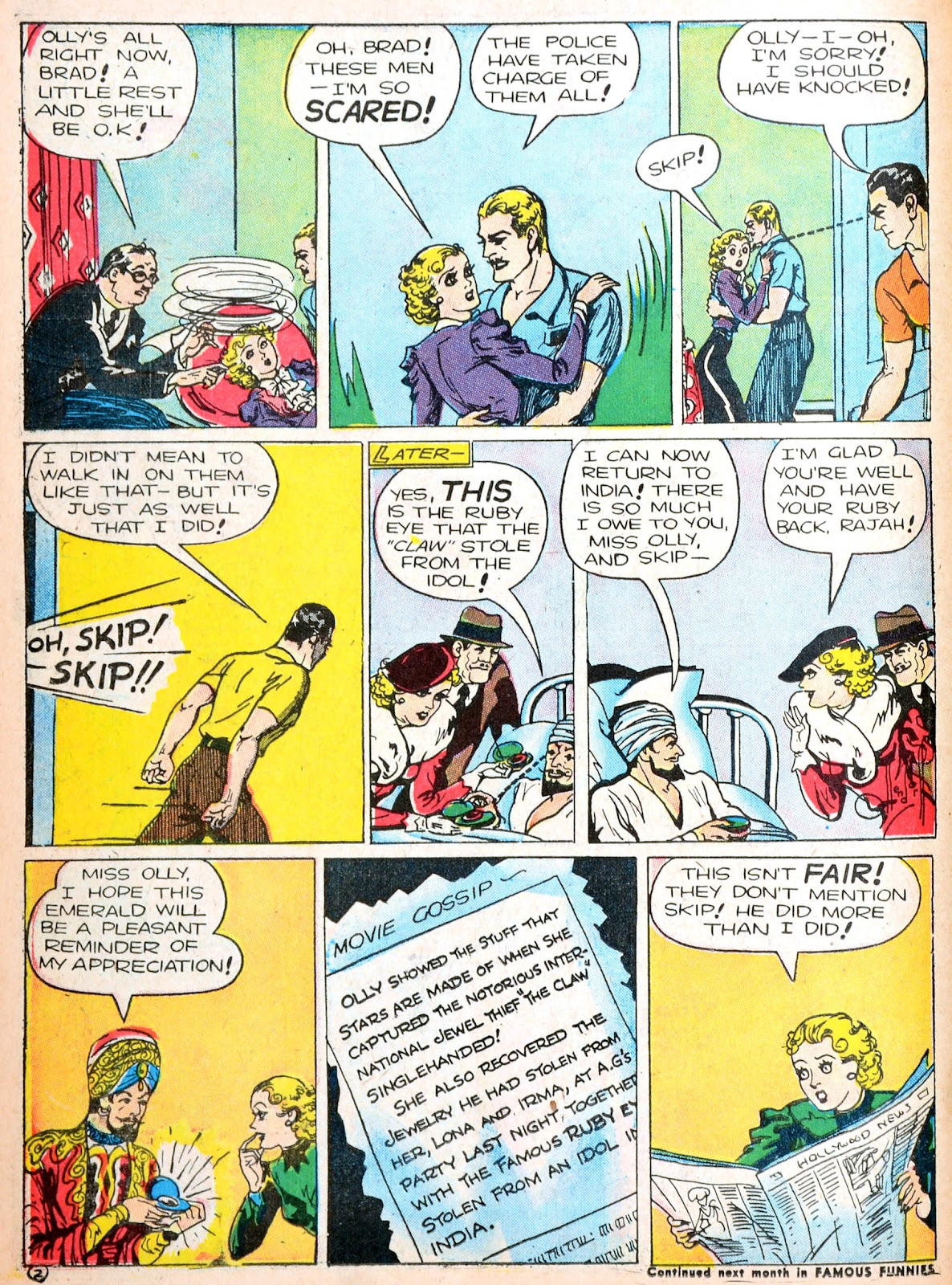Read online Famous Funnies comic -  Issue #88 - 49