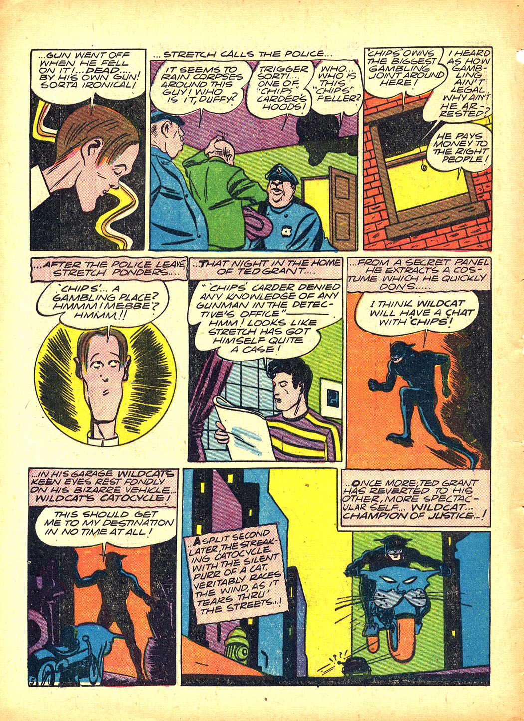 Read online Sensation (Mystery) Comics comic -  Issue #5 - 60