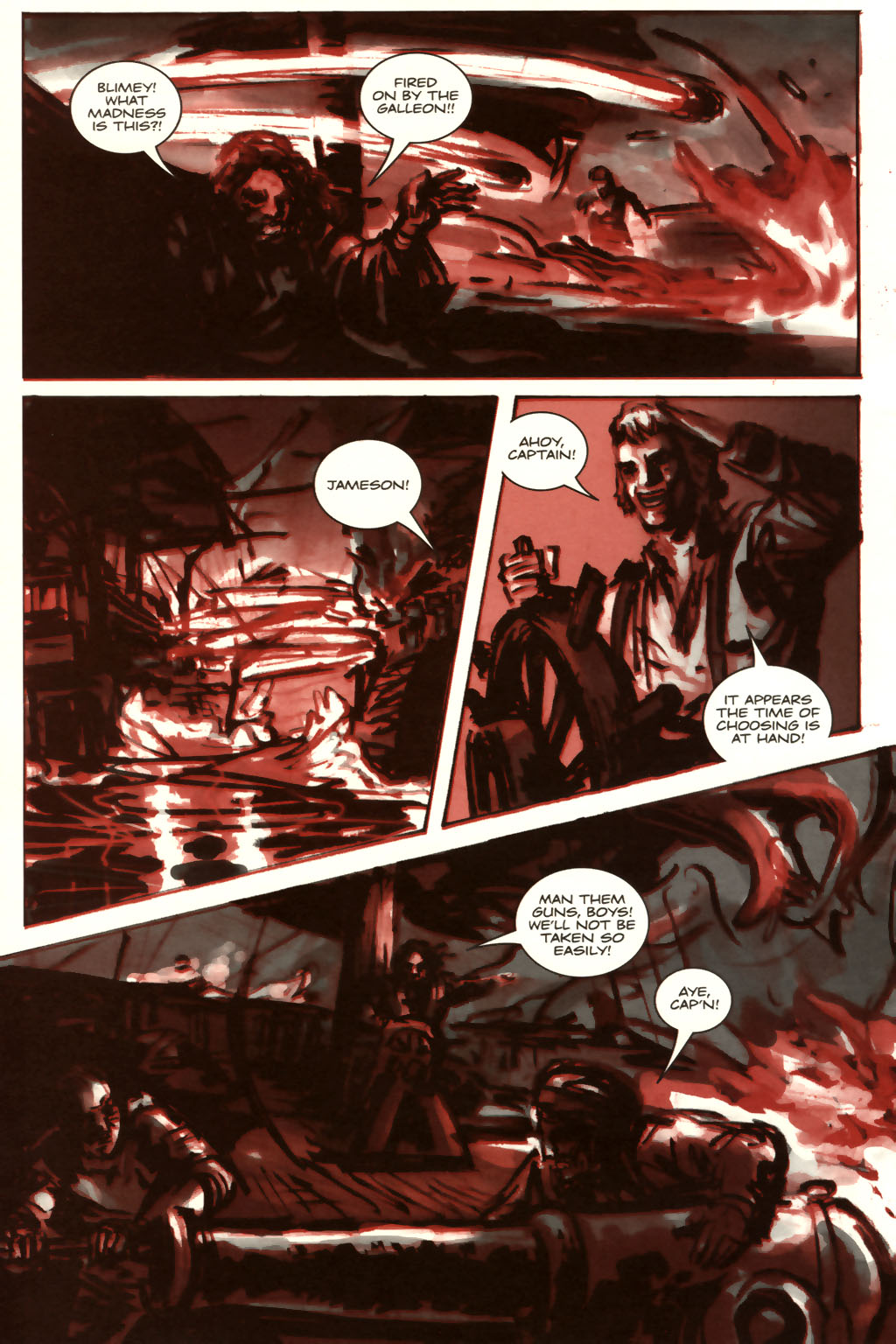 Read online Sea of Red comic -  Issue #9 - 19