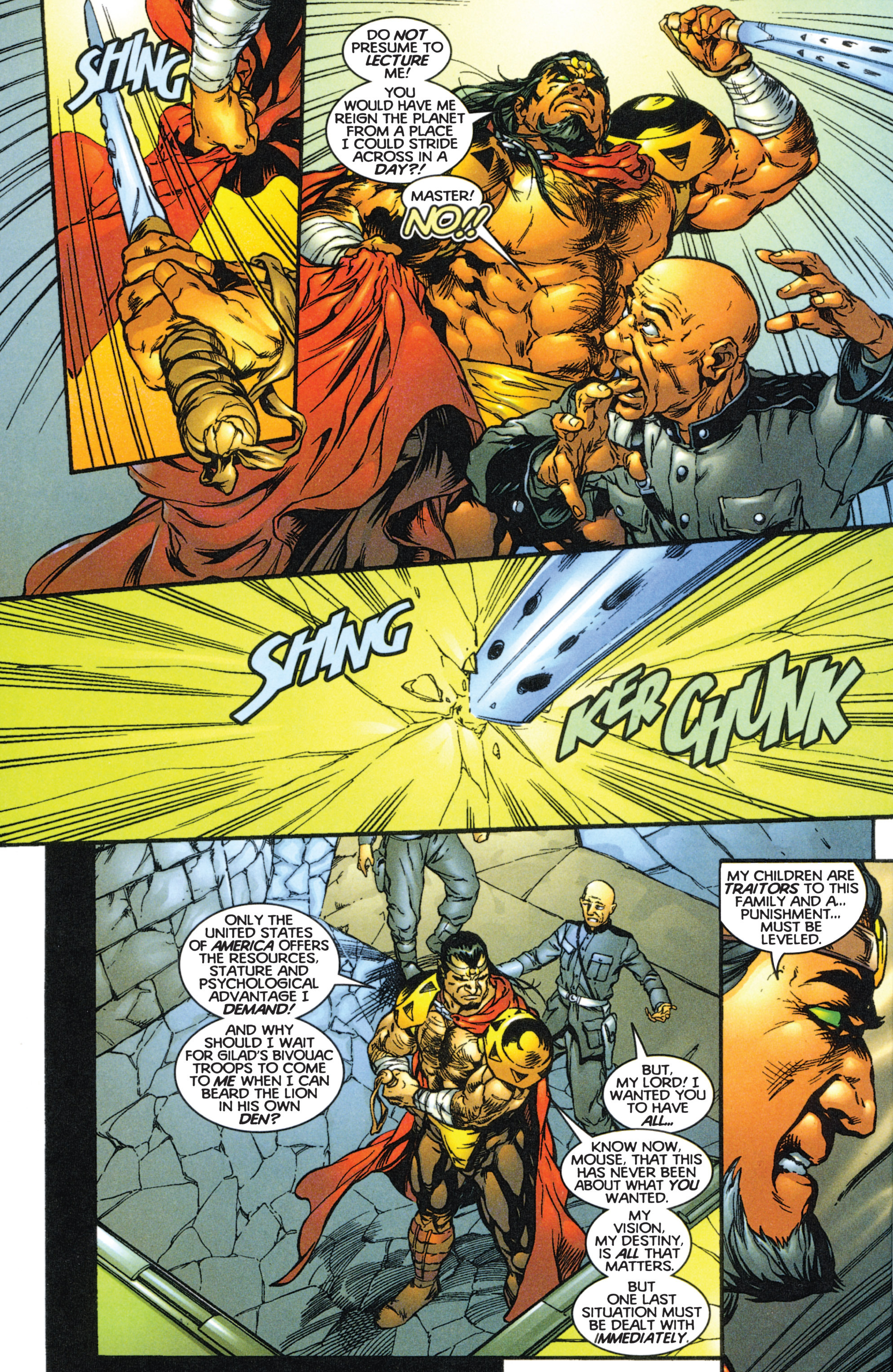 Read online Eternal Warriors comic -  Issue # Issue The Immortal Enemy - 11