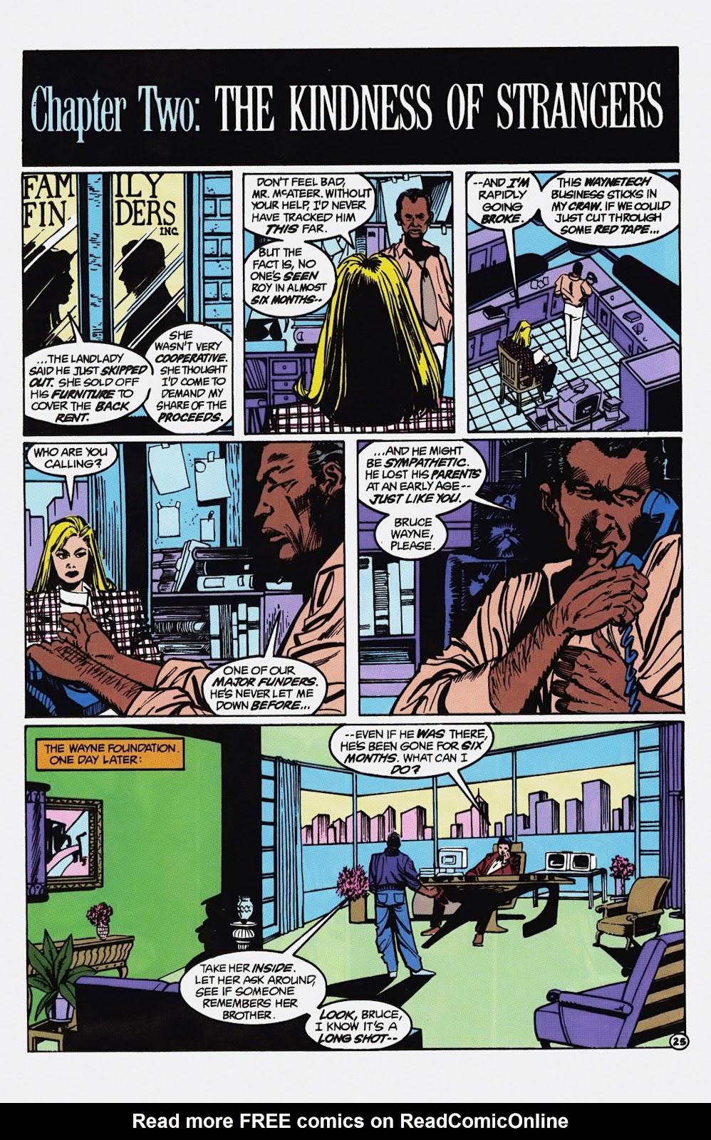 Read online Detective Comics (1937) comic -  Issue # _TPB Batman - Blind Justice (Part 1) - 30