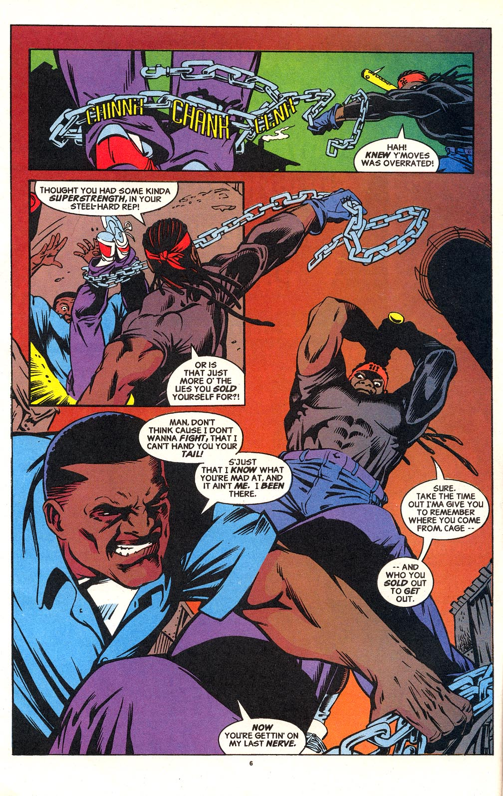 Cage (1992) issue 18 - Page 6