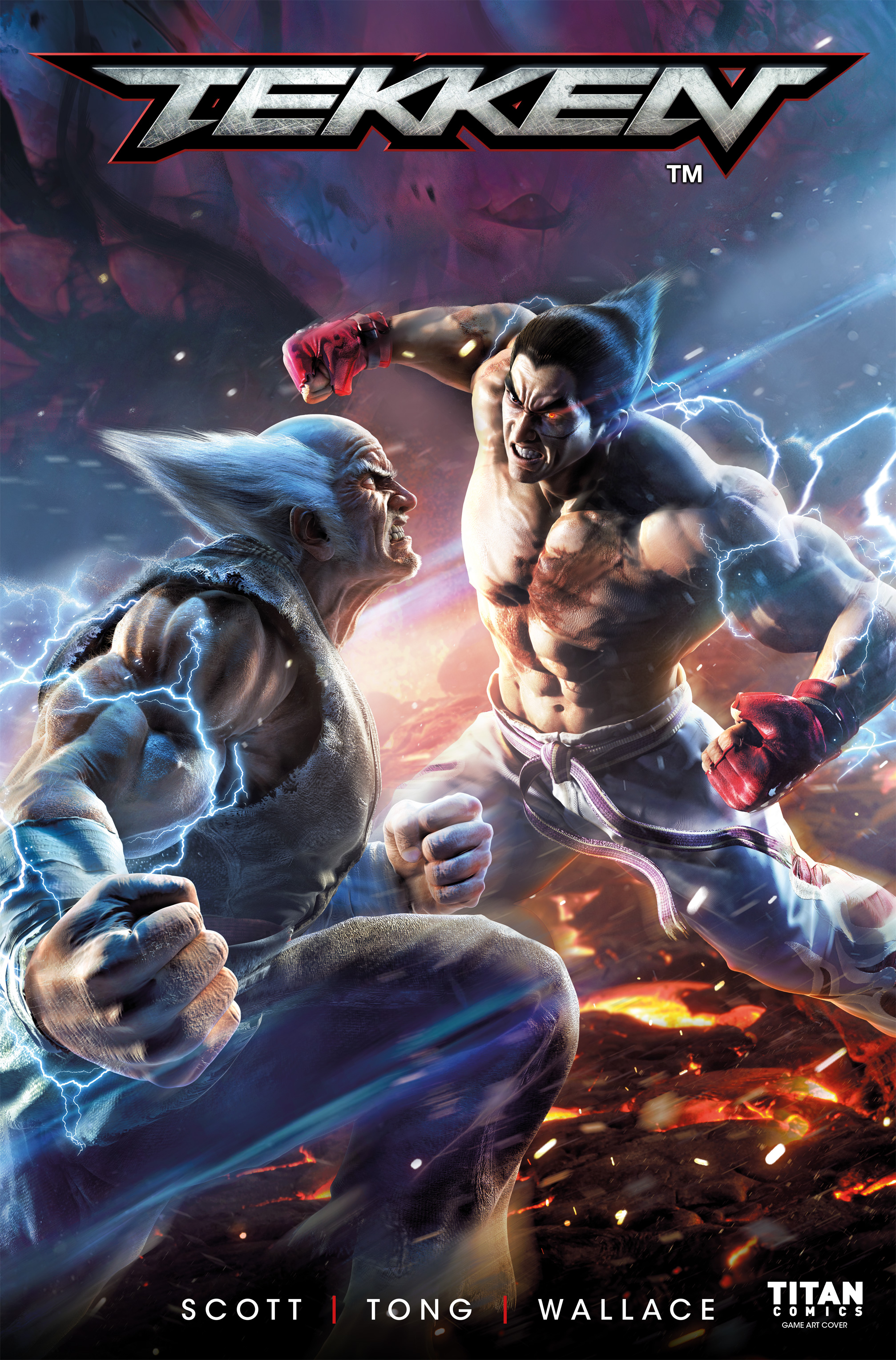 Read online Tekken comic -  Issue #2 - 1