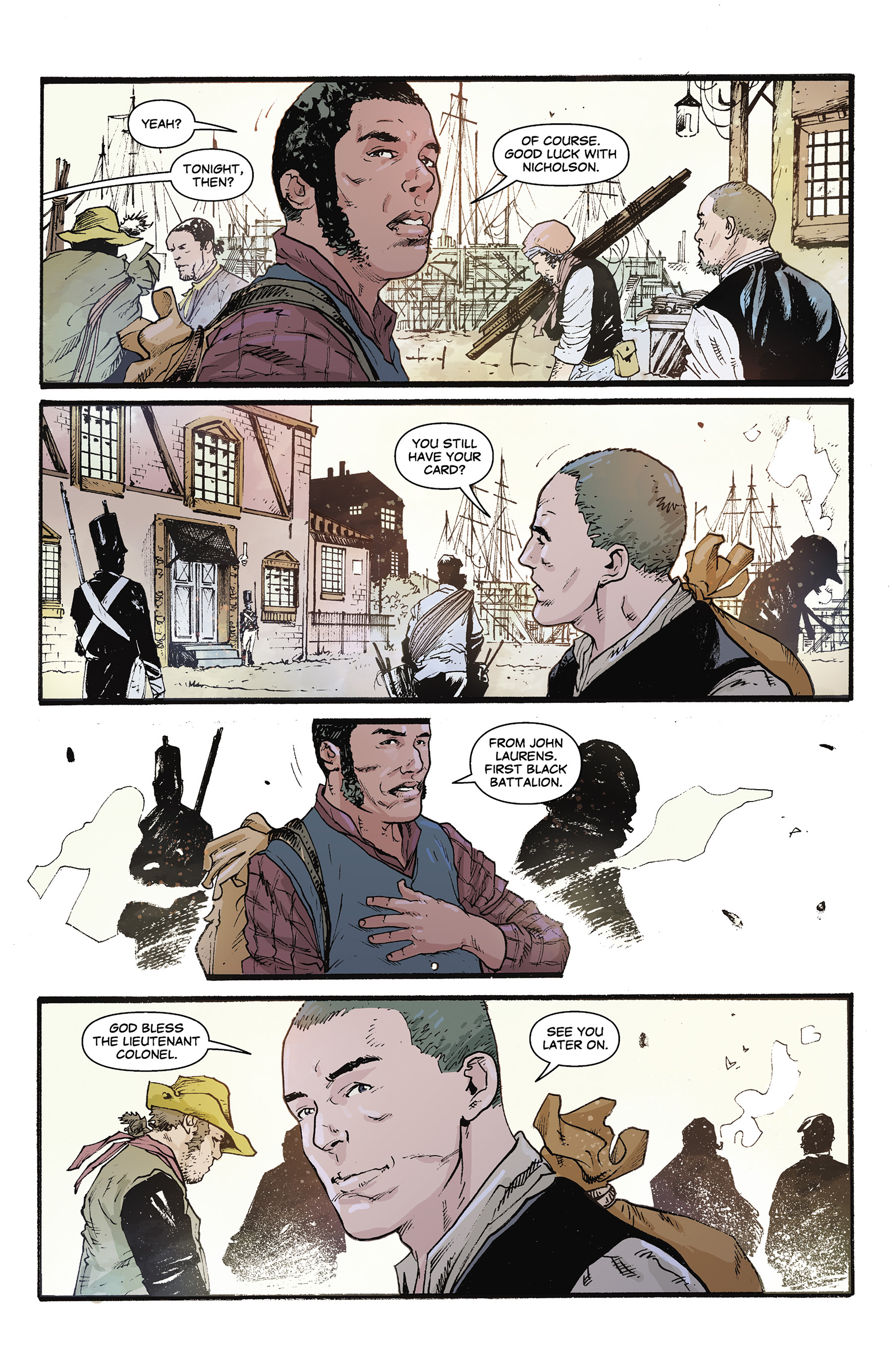 Read online Rebels: These Free and Independent States comic -  Issue #3 - 11