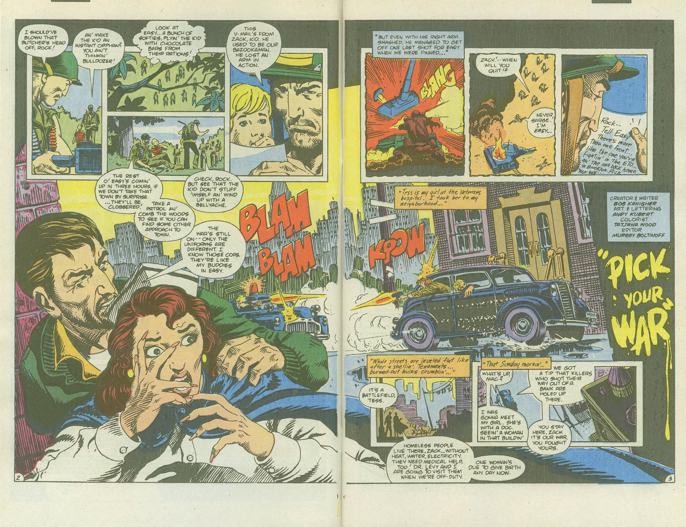 Read online Sgt. Rock comic -  Issue #415 - 4