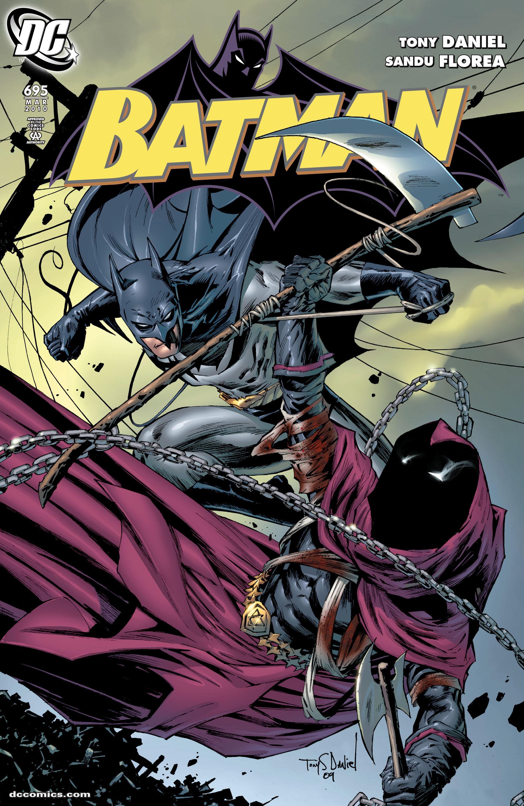 Batman (1940) 695 Page 1