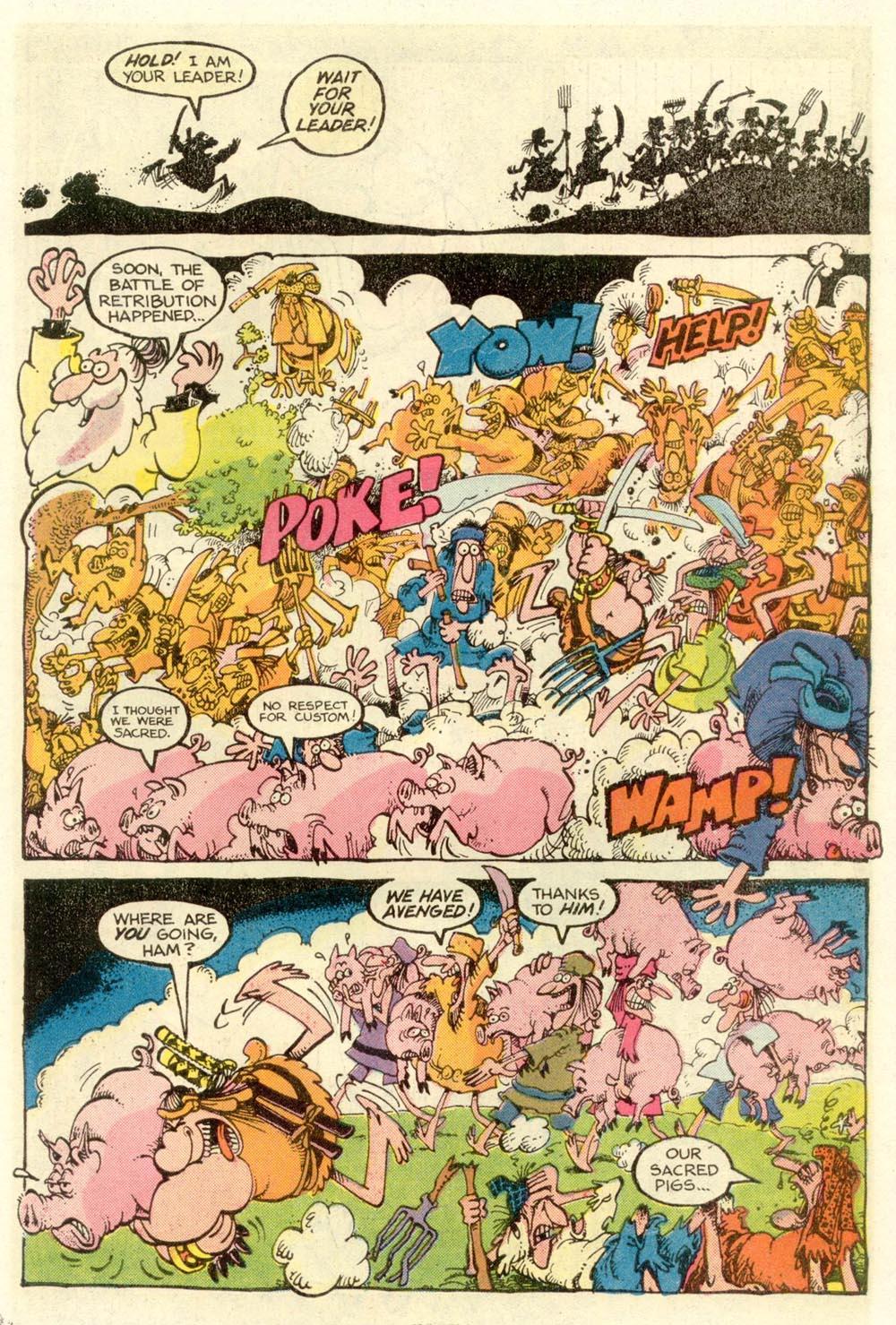 Read online Sergio Aragonés Groo the Wanderer comic -  Issue #9 - 19
