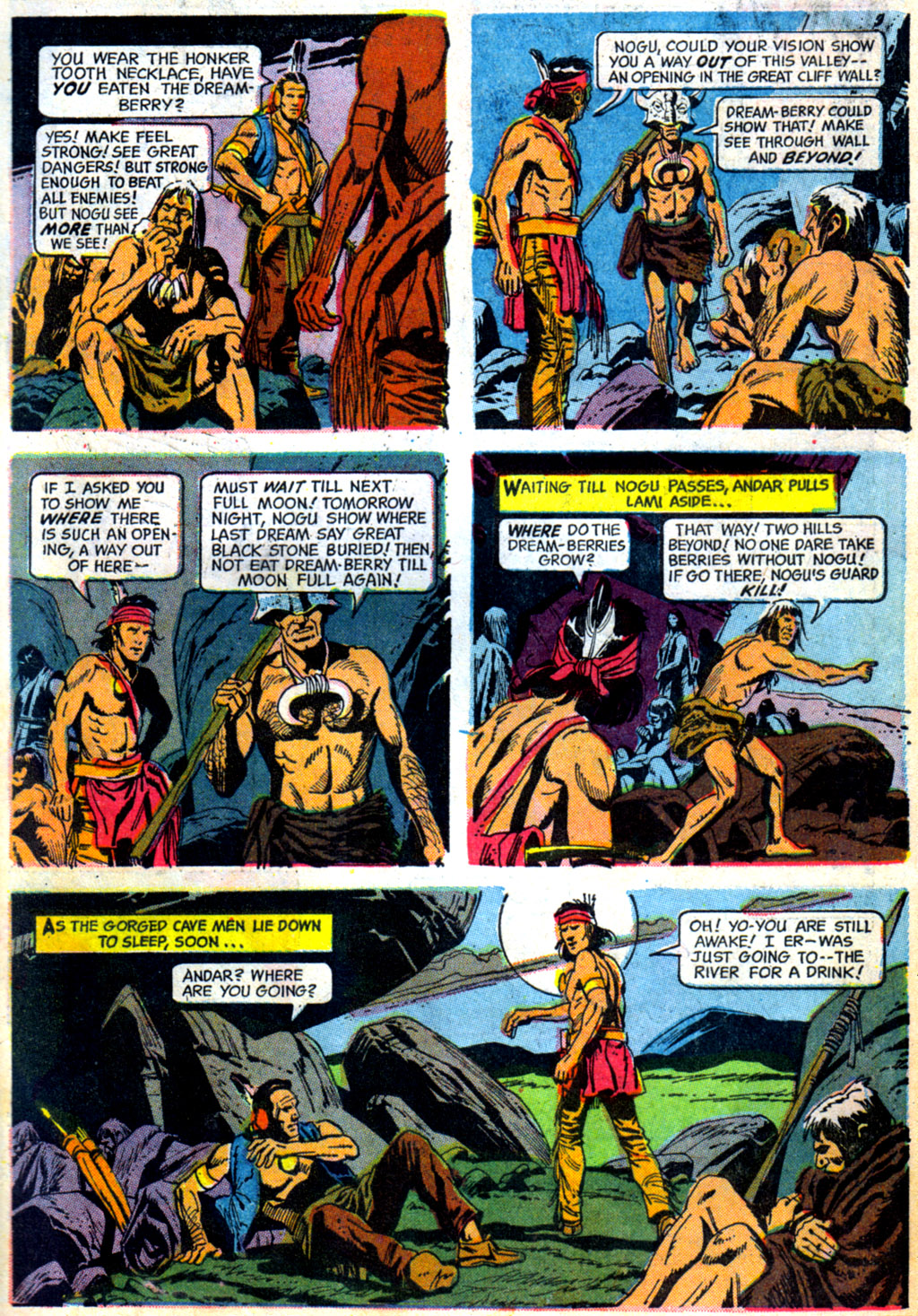 Read online Turok, Son of Stone comic -  Issue #62 - 7