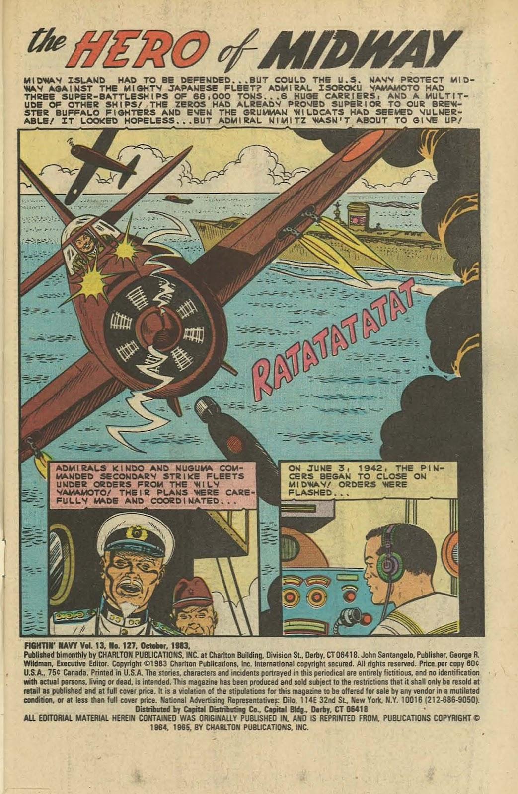 Read online Fightin' Navy comic -  Issue #127 - 3