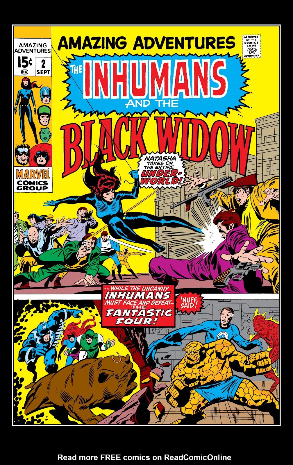 Read online Marvel Masterworks: The Inhumans comic -  Issue # TPB 1 (Part 1) - 80
