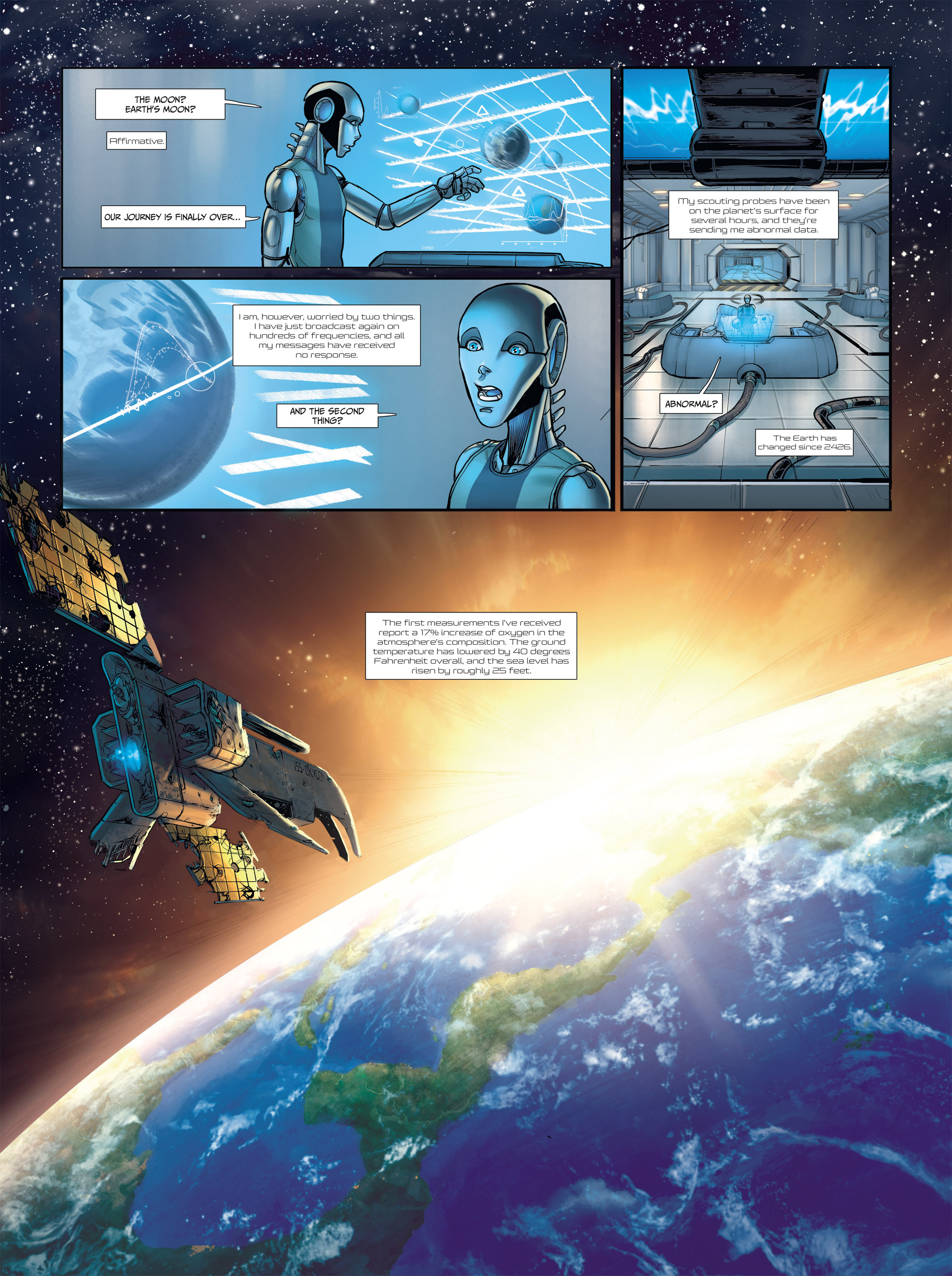 Read online Androïds comic -  Issue #2 - 13