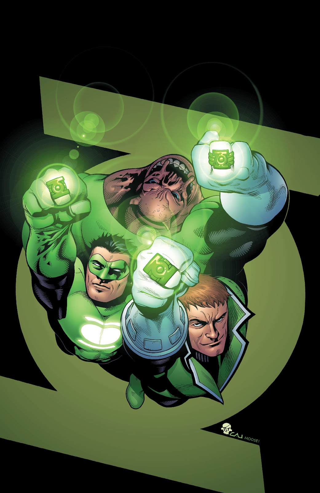 Read online Green Lantern by Geoff Johns comic -  Issue # TPB 1 (Part 2) - 77