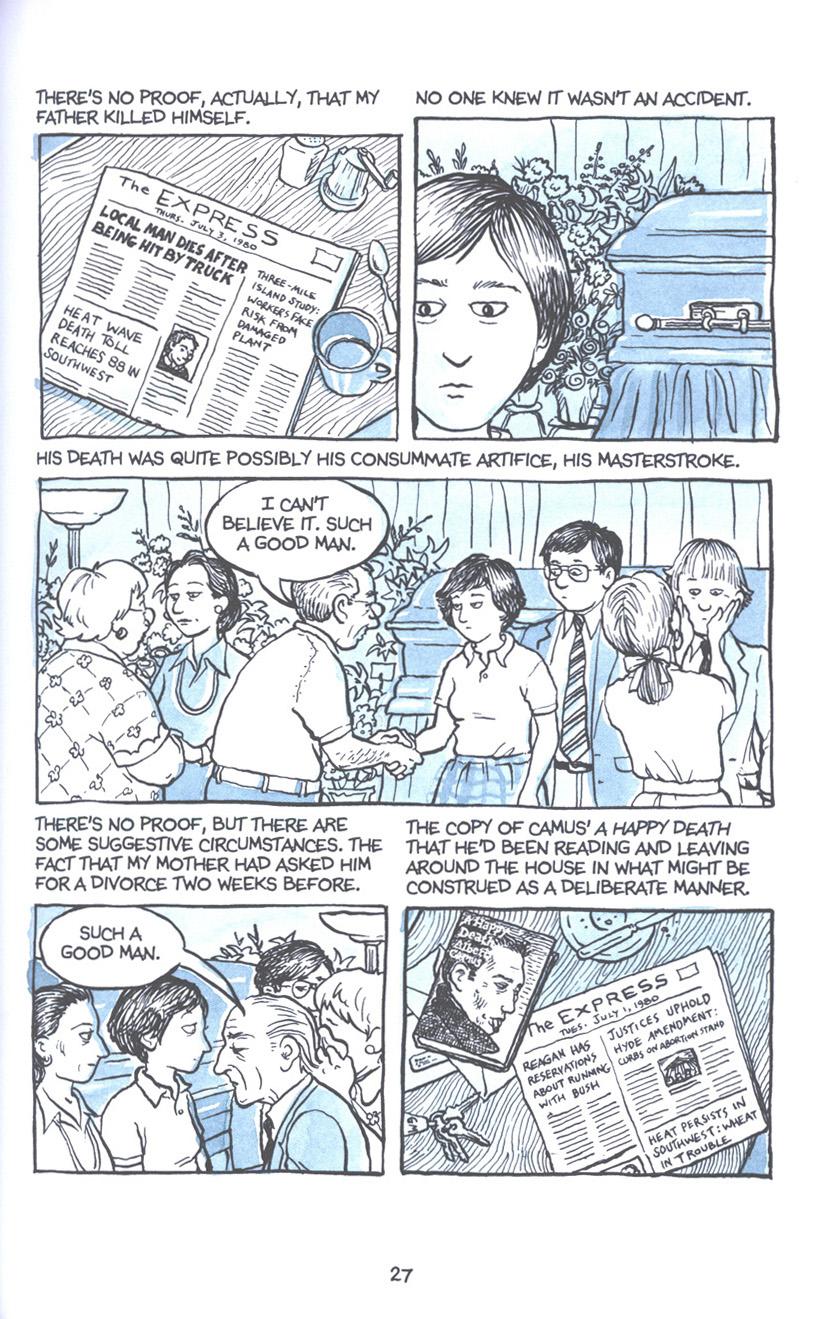 Read online Fun Home: A Family Tragicomic comic -  Issue # TPB - 34